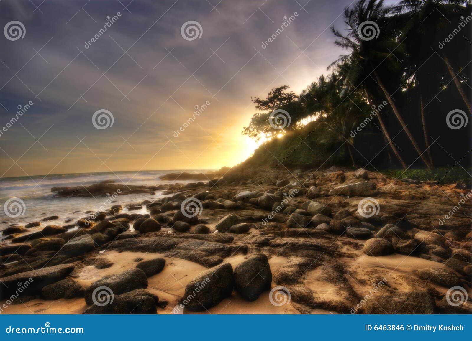 Phuket miękka słońca