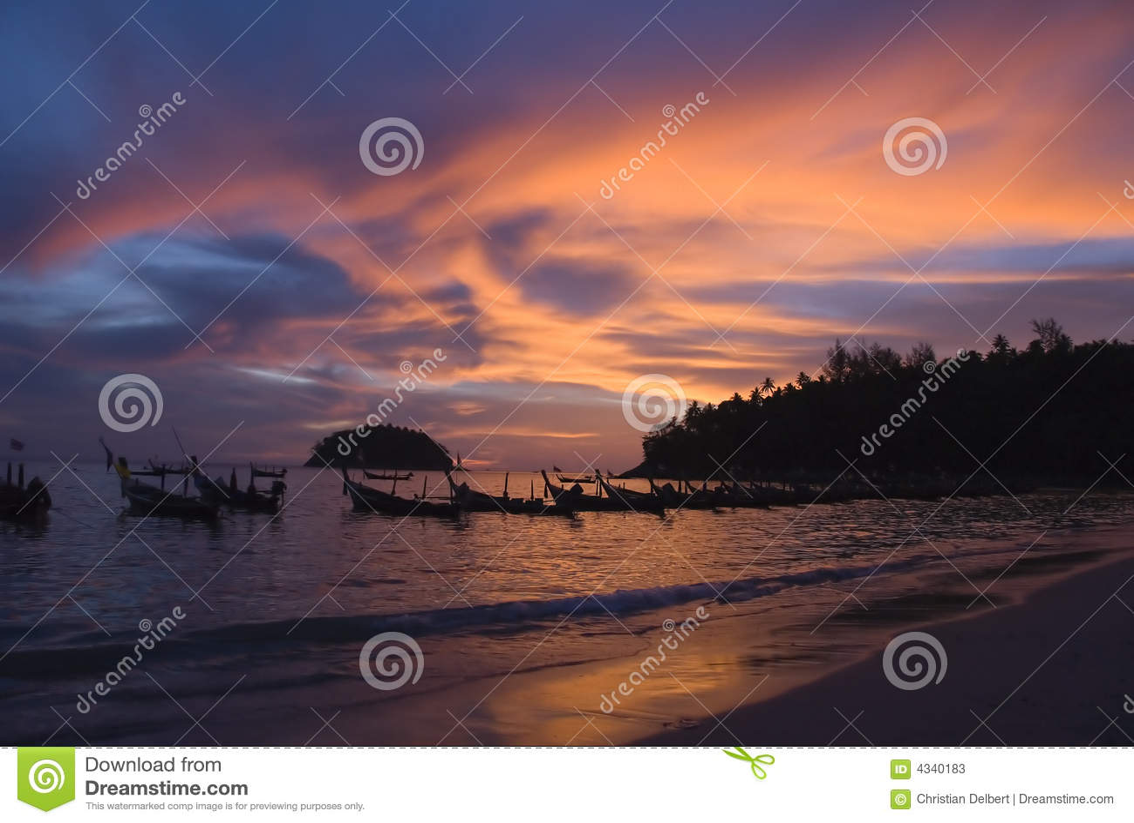 Phuket słońca na plaży Thailand