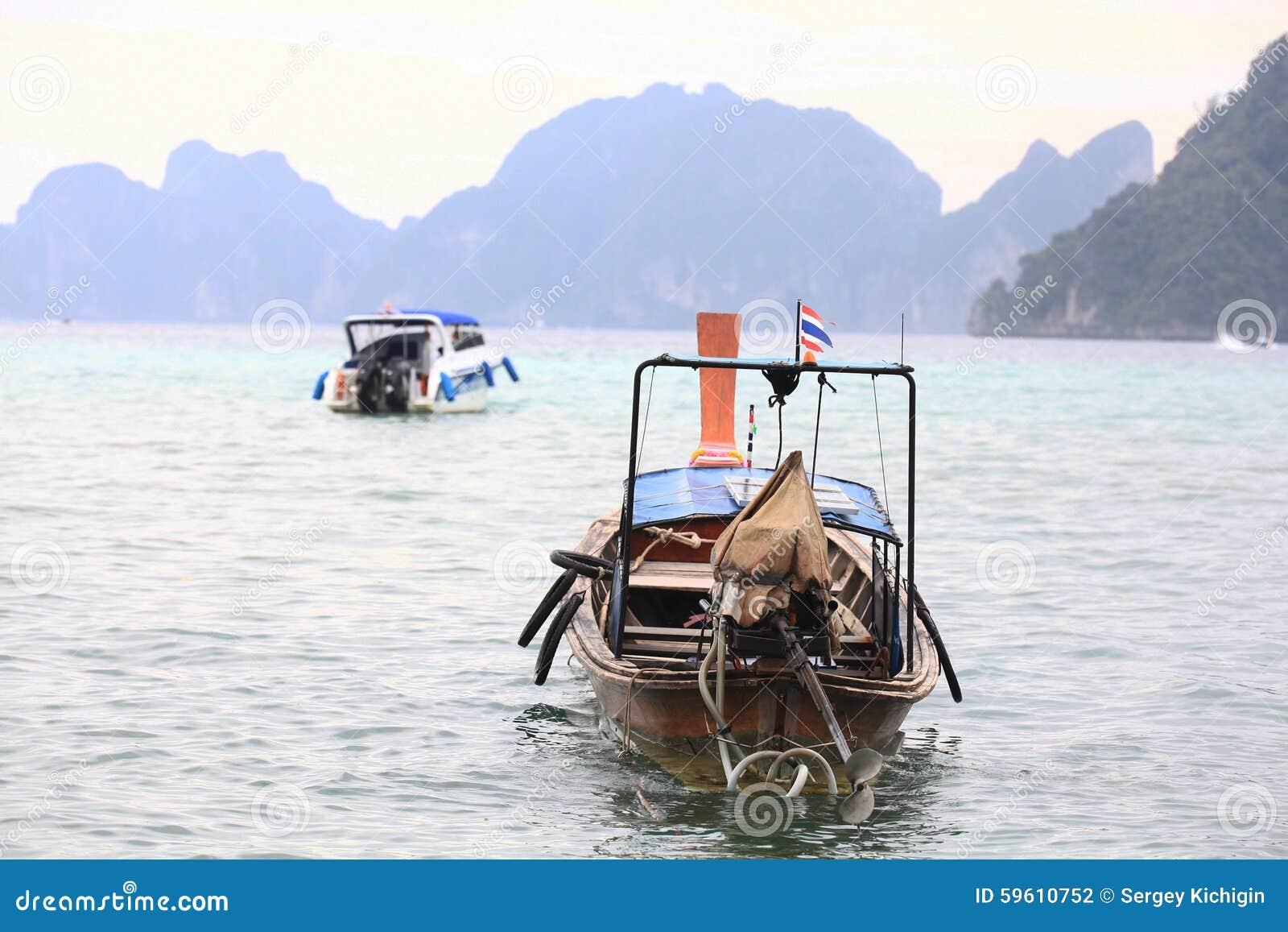 Phuket, THAILAND -JANUARY 05: Landscape Sea Kayak Excursion