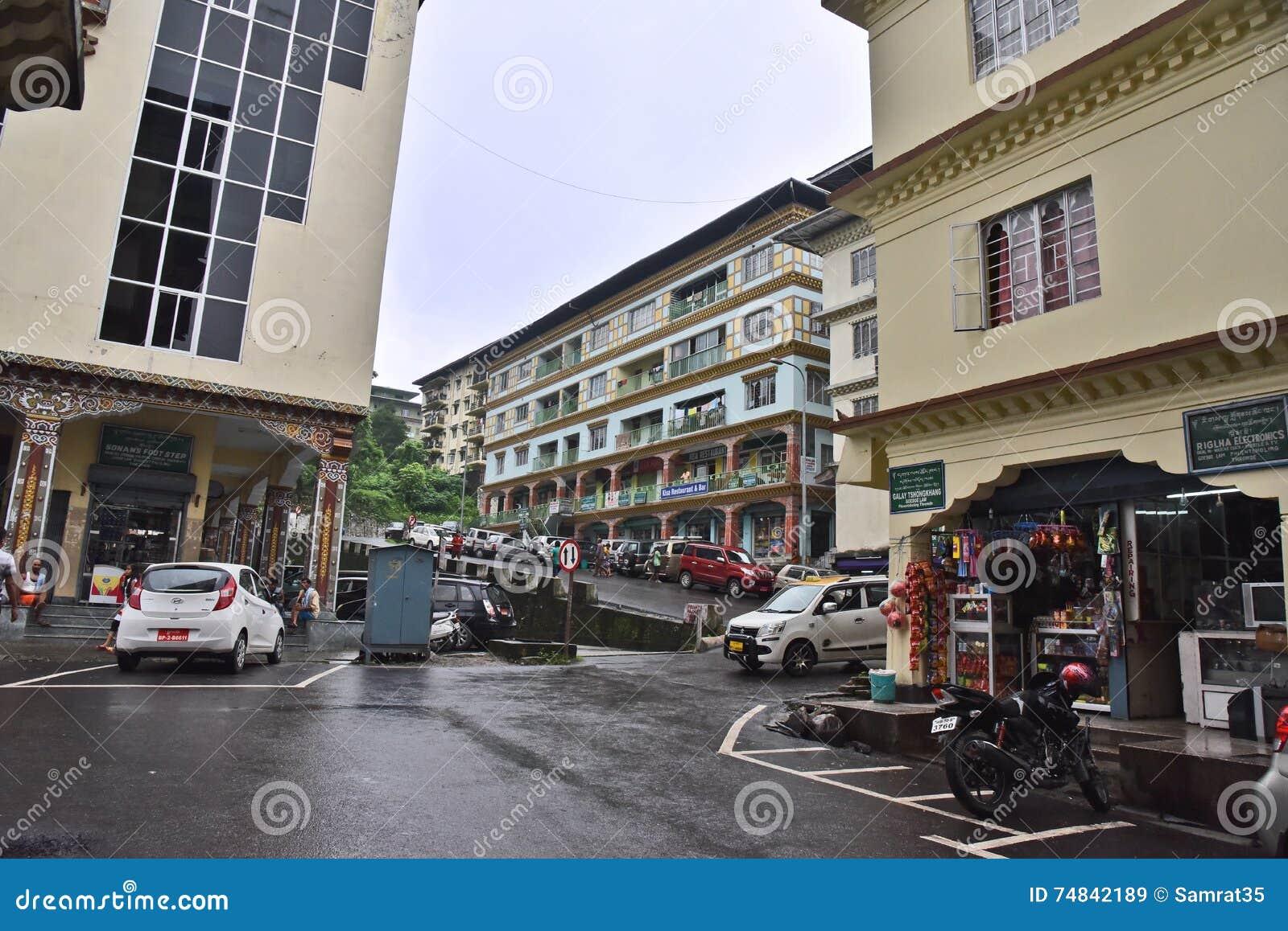 Phuntsholing City Editorial Stock Image Image 74842189