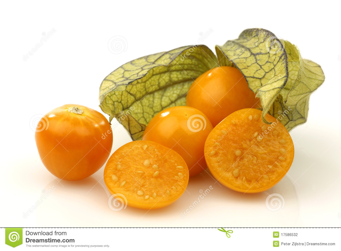 Physalis Fruit (Physalis Peruviana) Stock Photography - Image ...