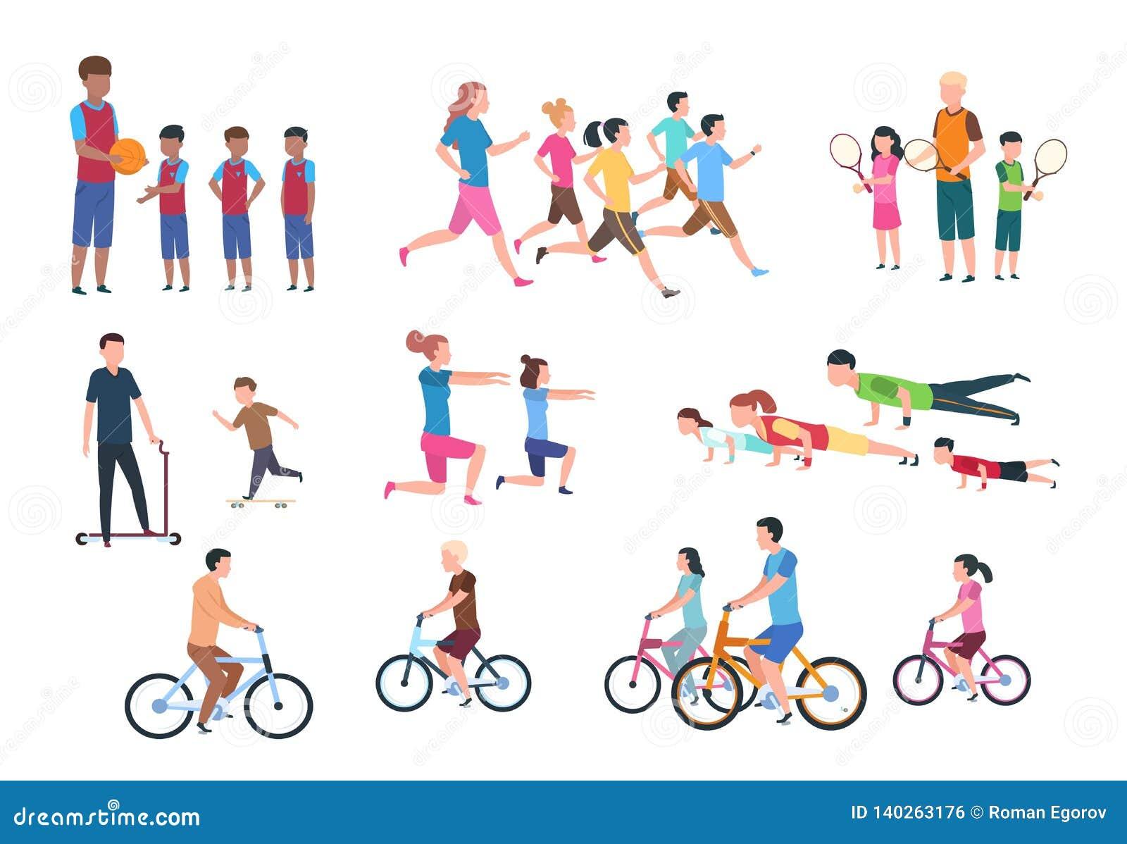 Fitness Set Stock Illustrations – 55,431 Fitness Set Stock ...