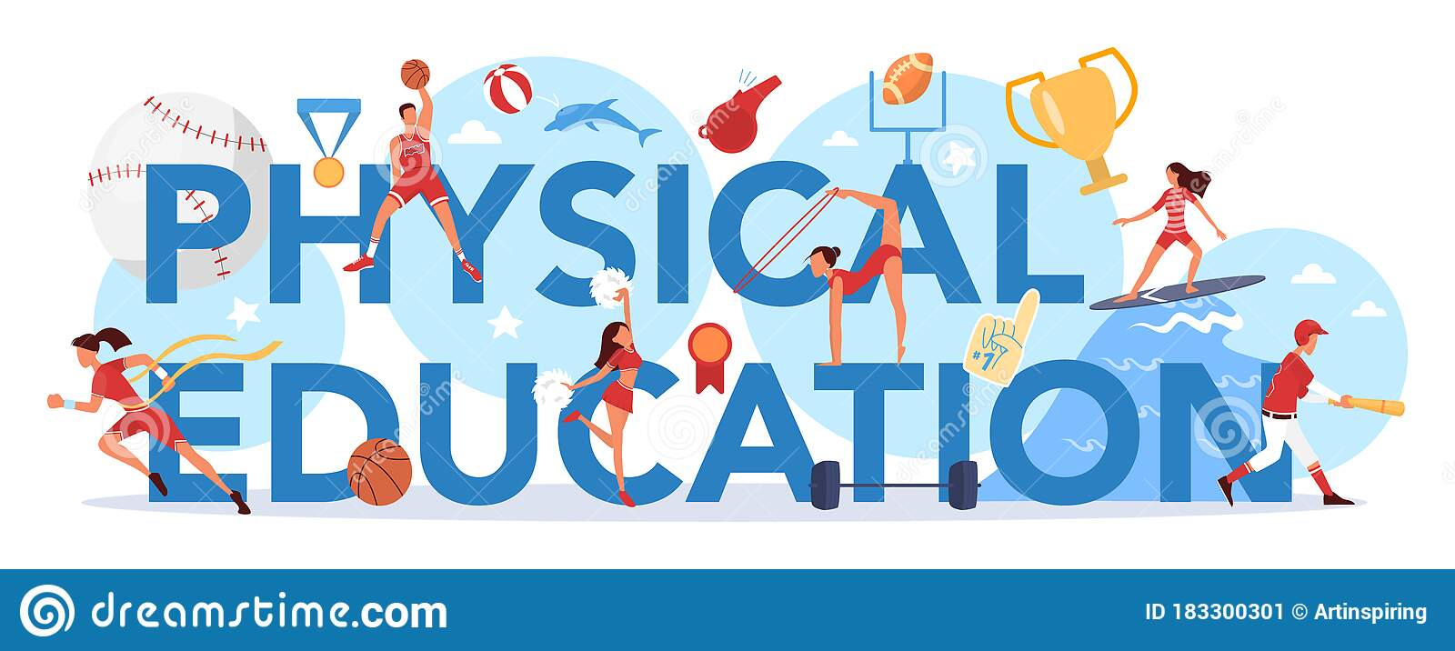 physical-education-lesson-school-class-typographic-header-concept-students-doing-excercise-gym-sport-equipment-183300301.jpg (1600×716)