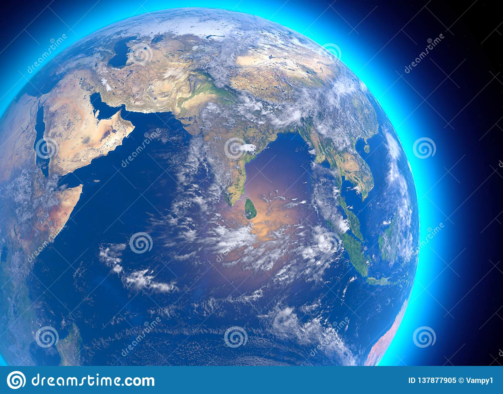 Setelight Map Of India.Physical Map Of The World Satellite View Of India Asia Globe