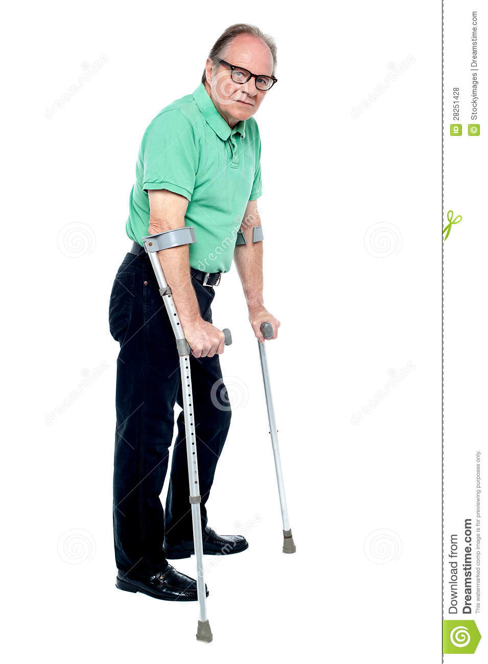 how to hold elderly person walking upstairs