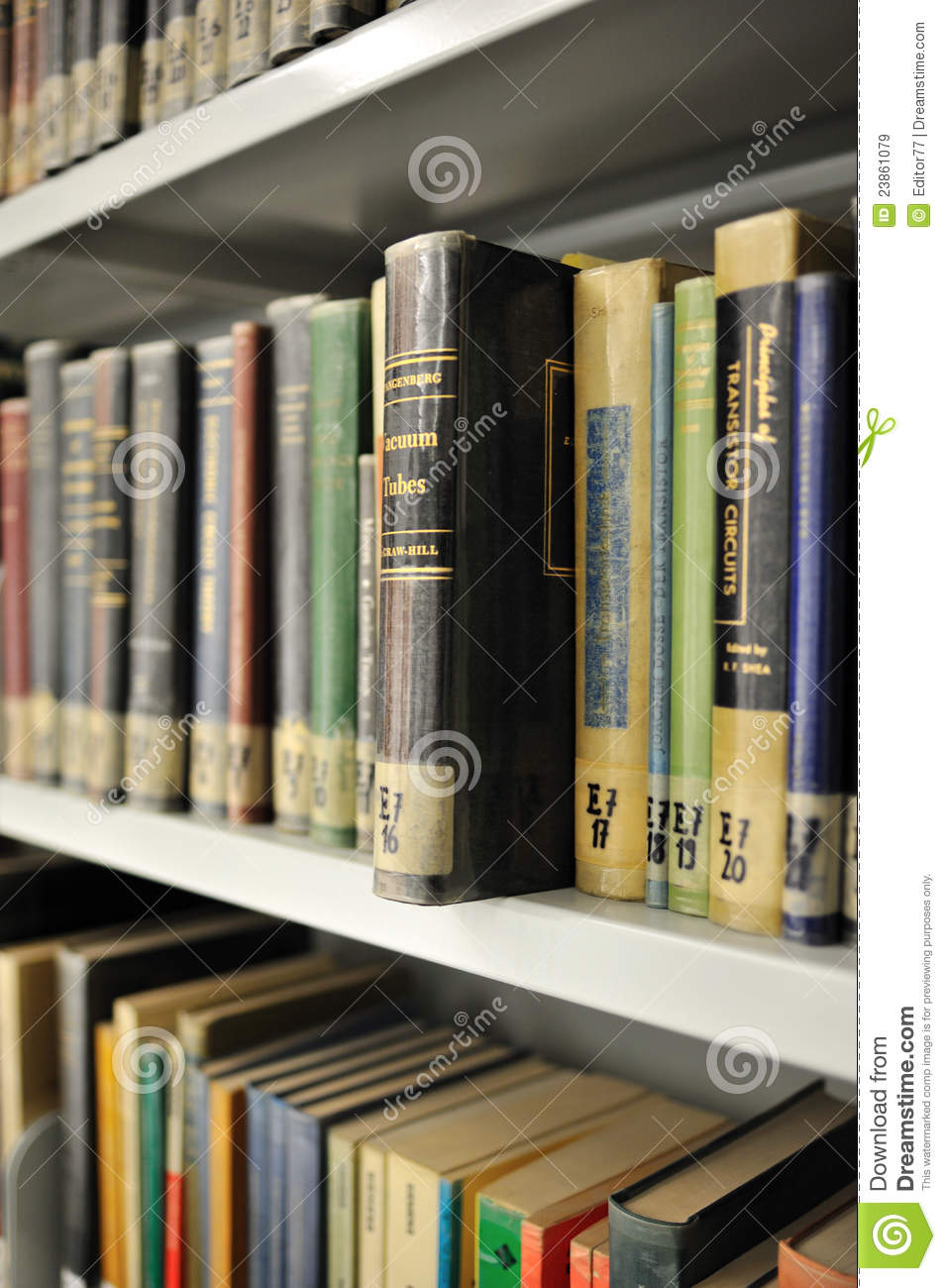 Physics library editorial stock image  Image of studying