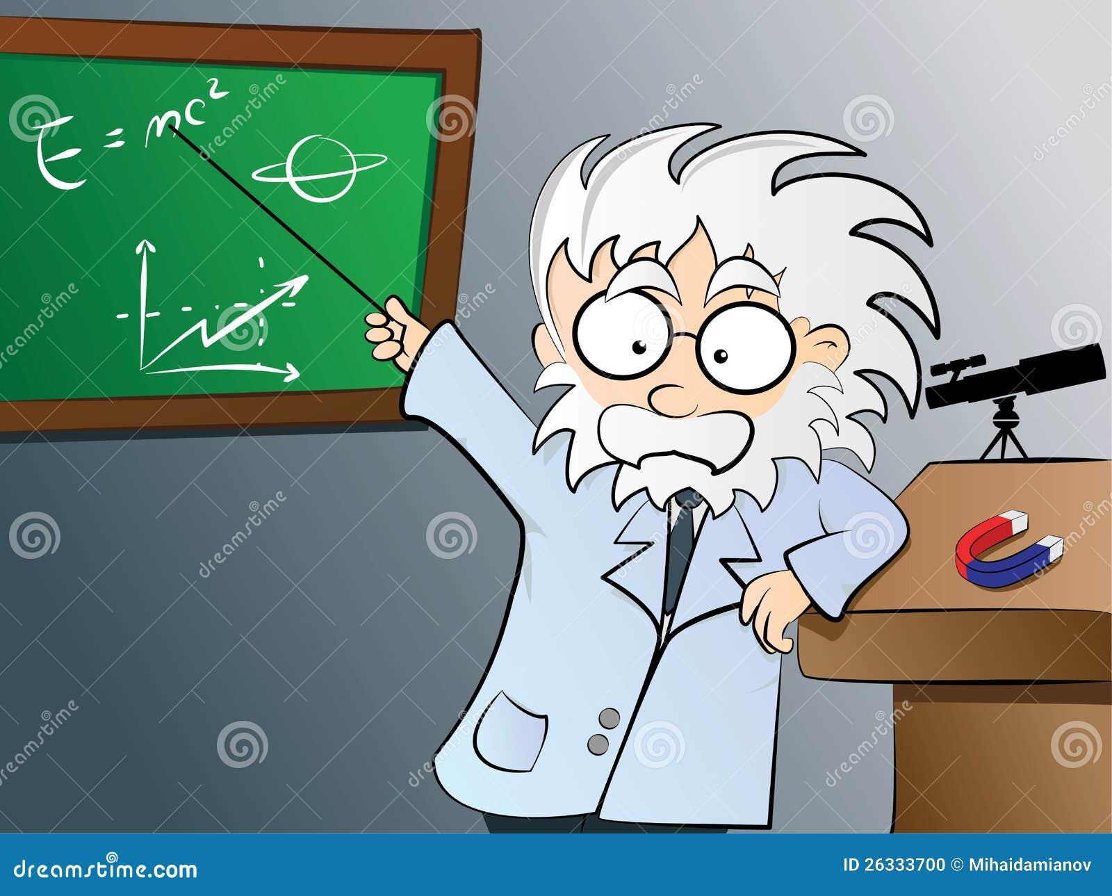 Physics Teacher In Class Stock Photo - Image: 26333700