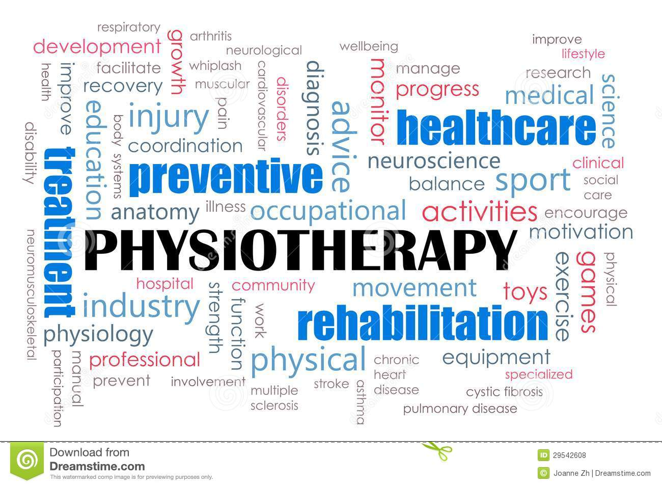 Physiotherapy Concept Royalty Free Stock Photos Image