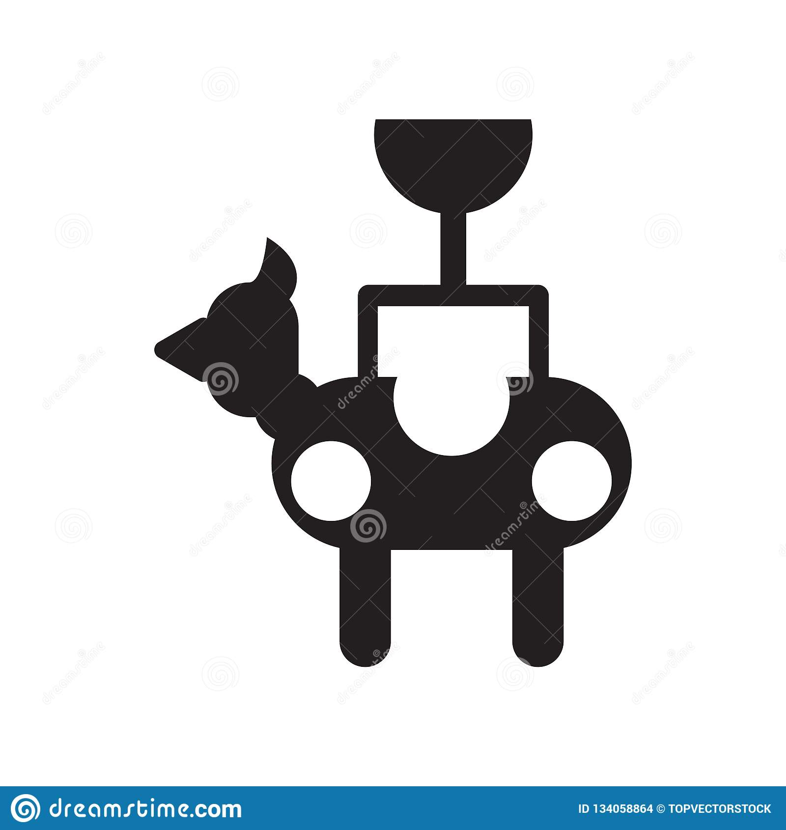 Piñata icon vector isolated on white background, Piñata sign , celebration pictograms