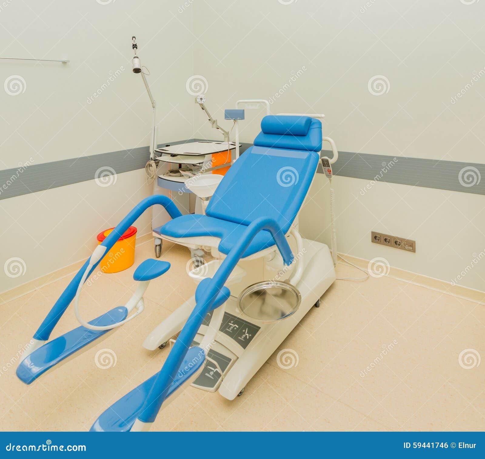 Pièce de gynécologie dans l hôpital