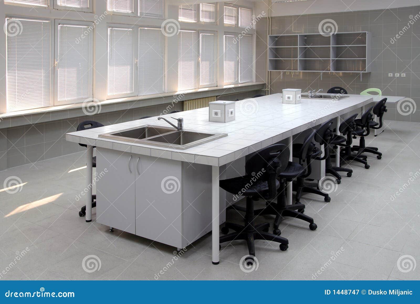 Pièce de laboratoire