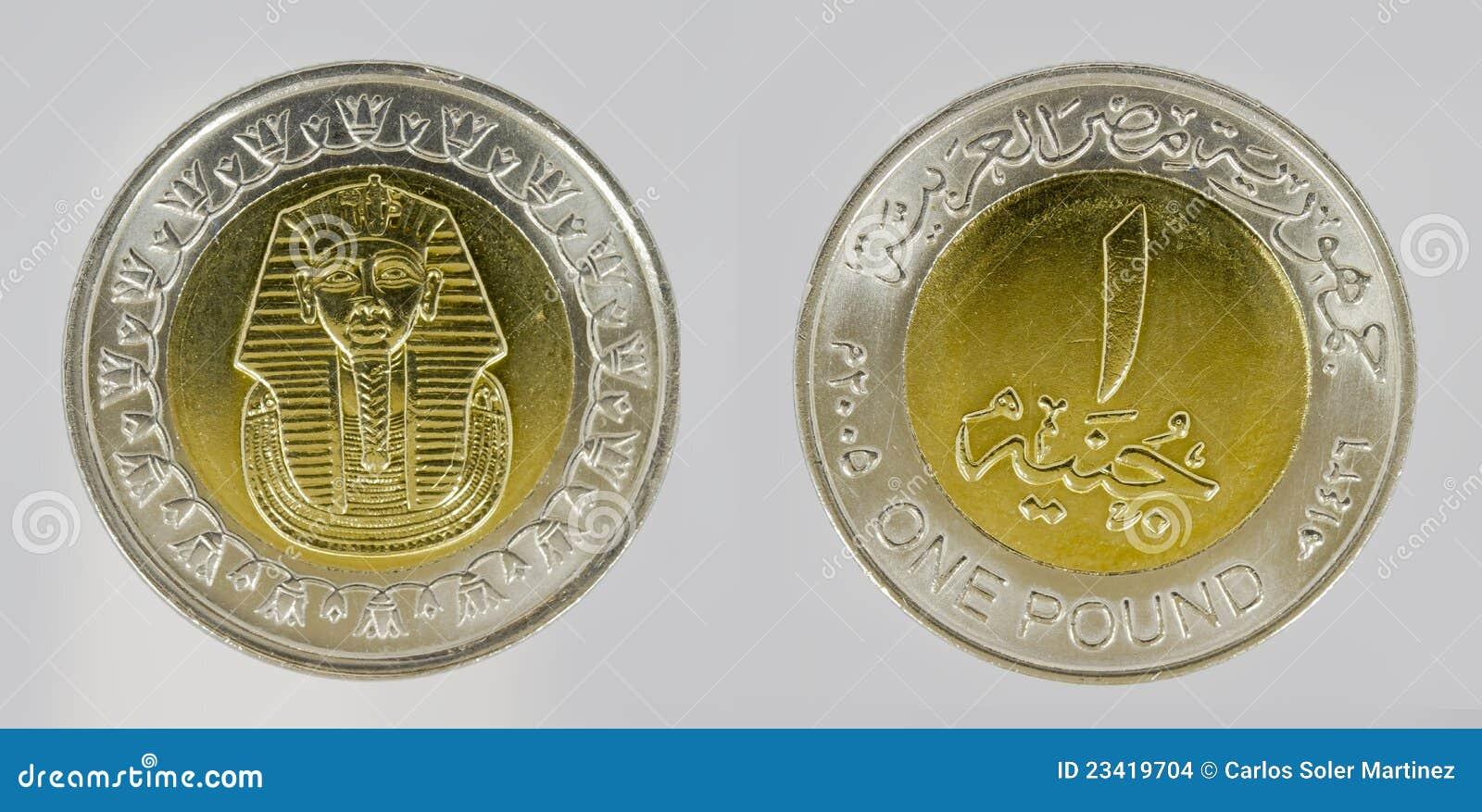 piece de monnaie egyptienne