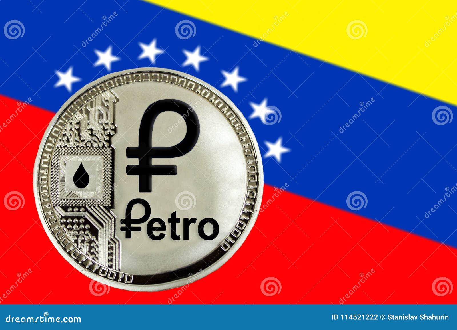 Pièce de monnaie Cryptocurrency Venezuela Petro