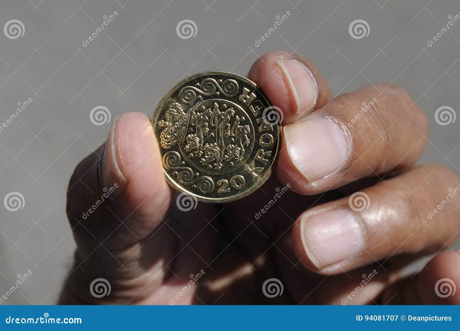 Pièce de monnaie de 20 couronnes