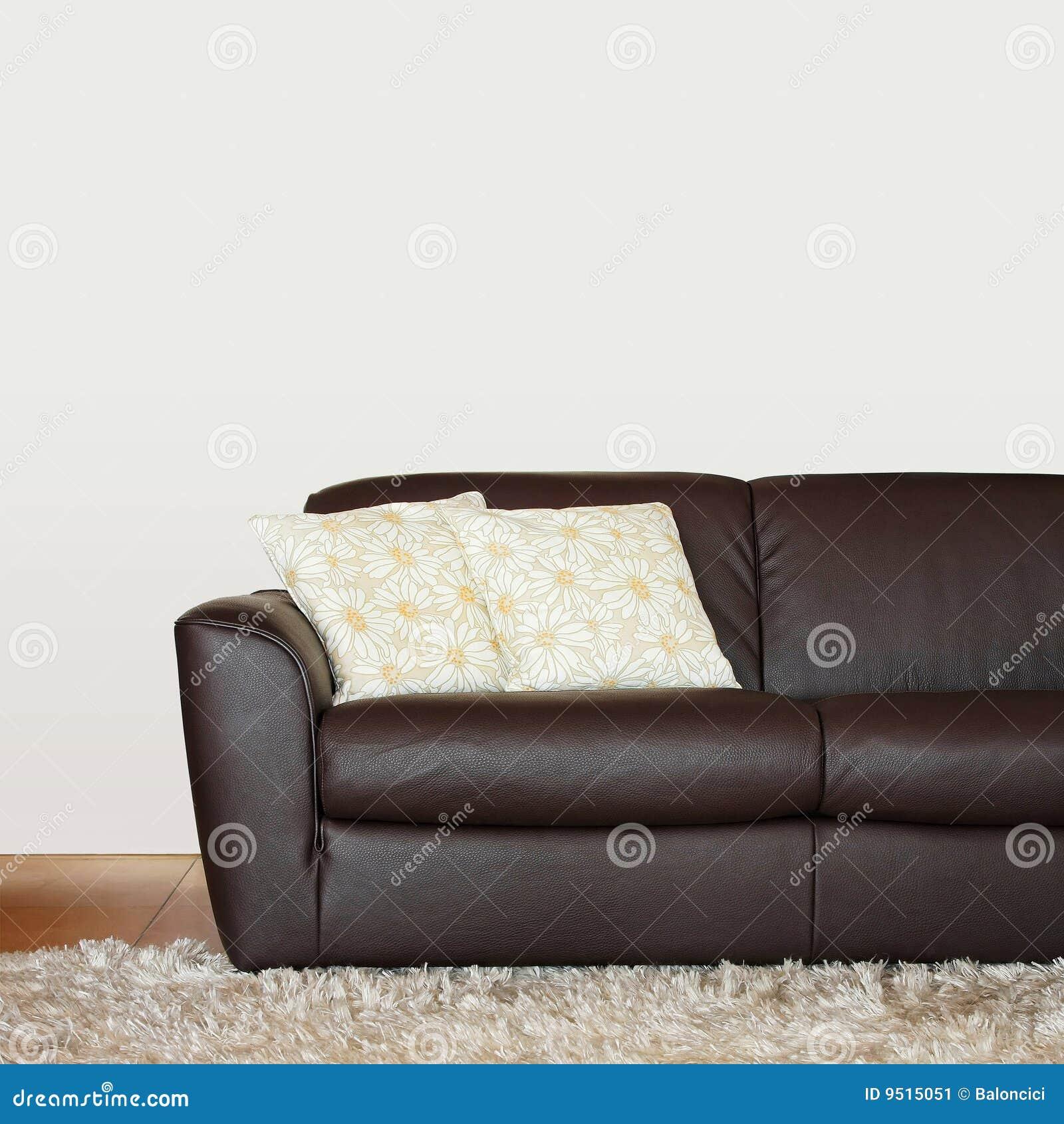 Pièce de sofa de Brown