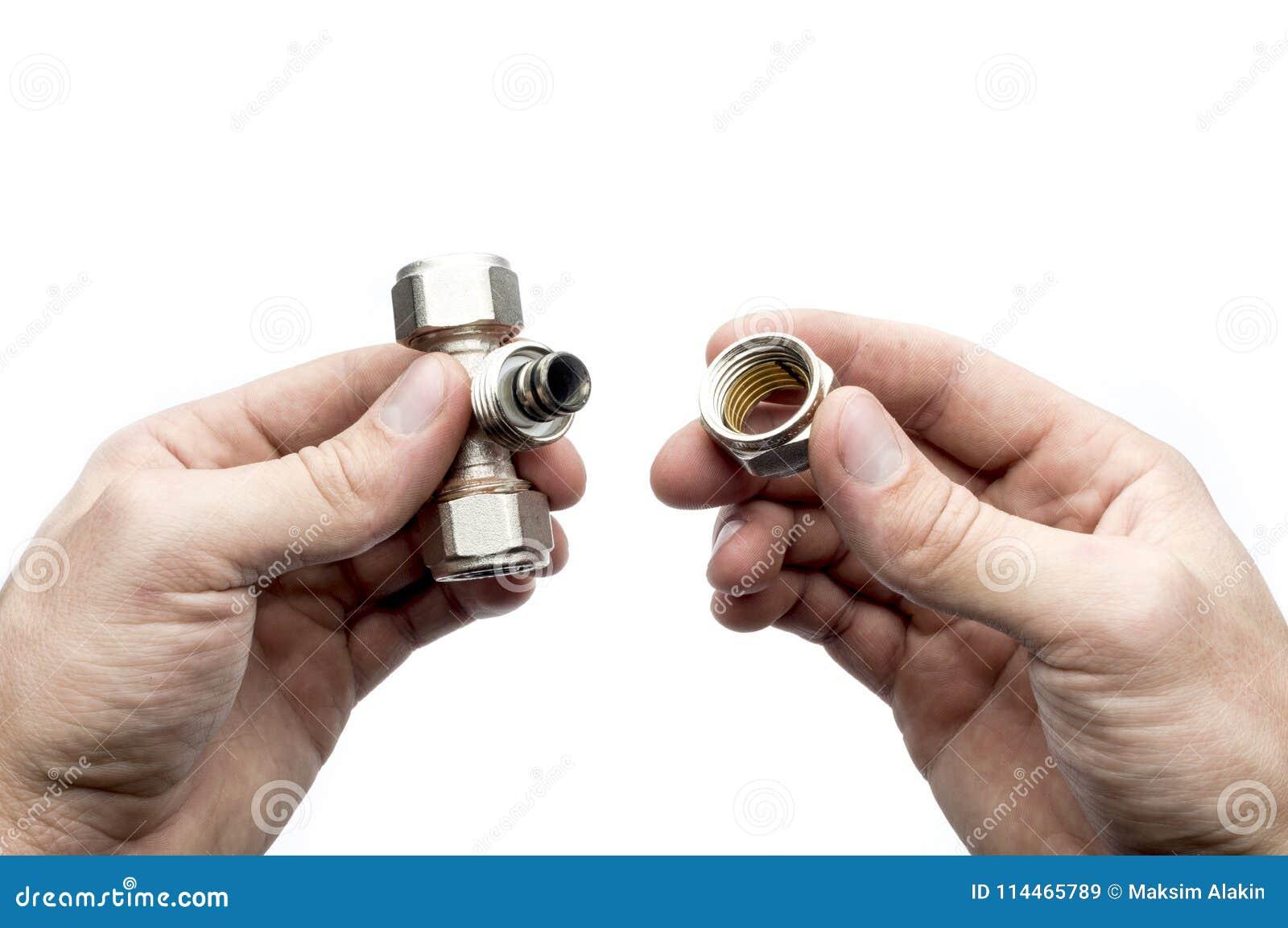 Pièce en t d accouplement de tuyau à disposition