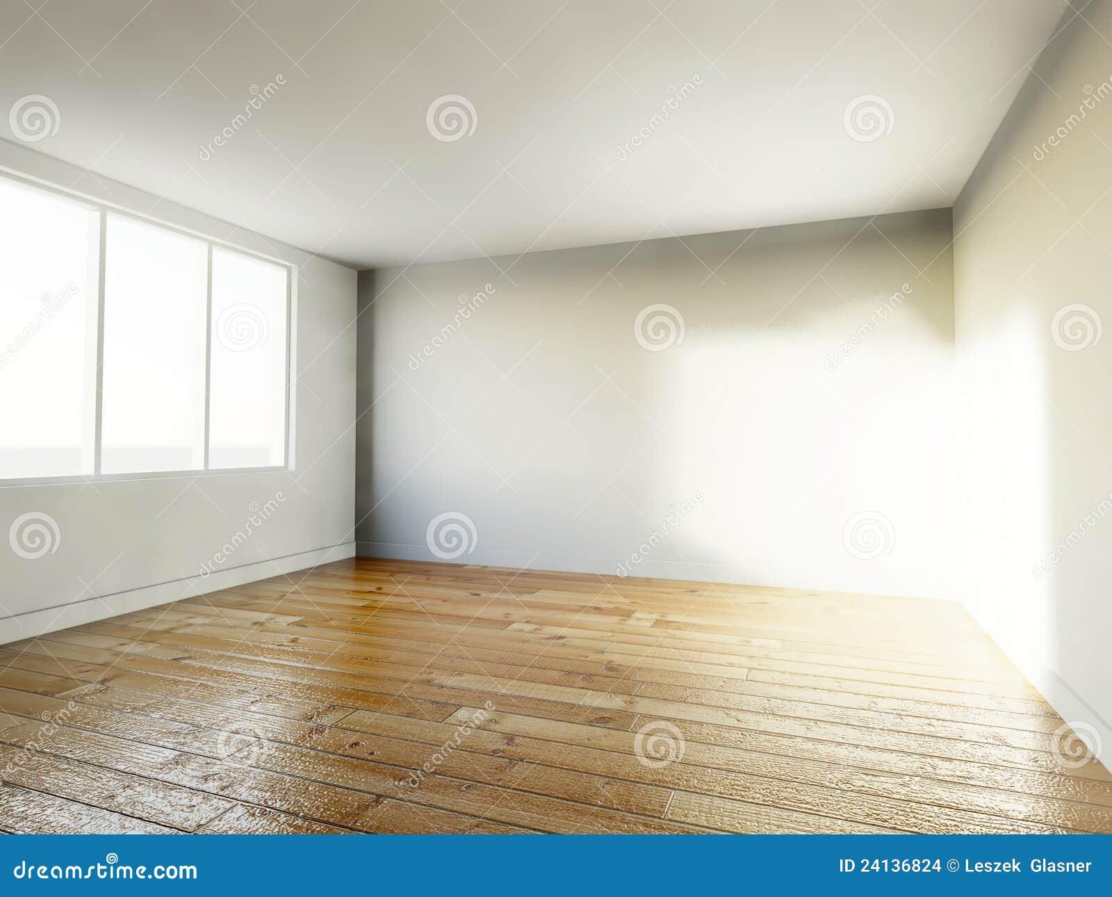 Pi ce vide int rieur de la maison 3d images stock image for Interieur de la maison