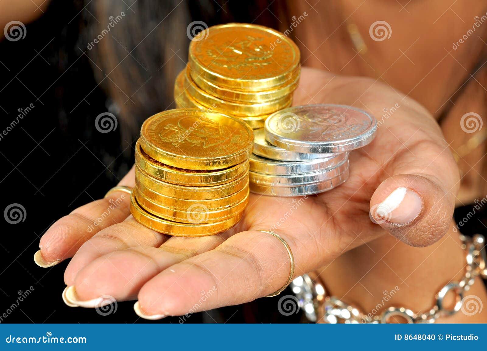 Pièces d or et en argent