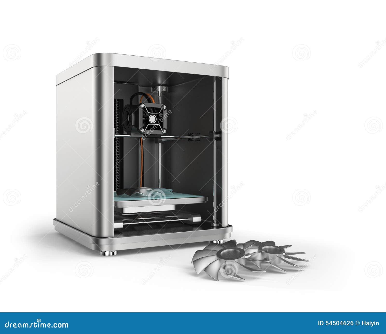Pièces de fan en métal d impression de l imprimante 3D
