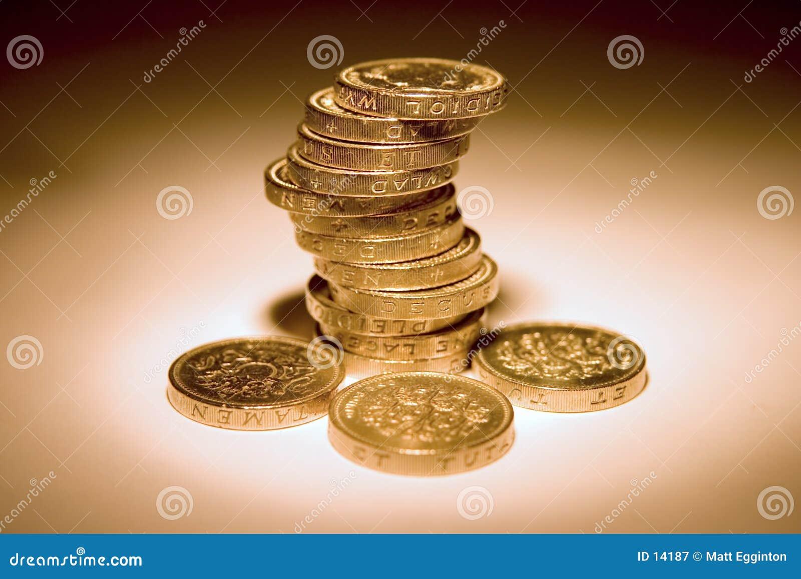 Pièces de monnaie BRITANNIQUES