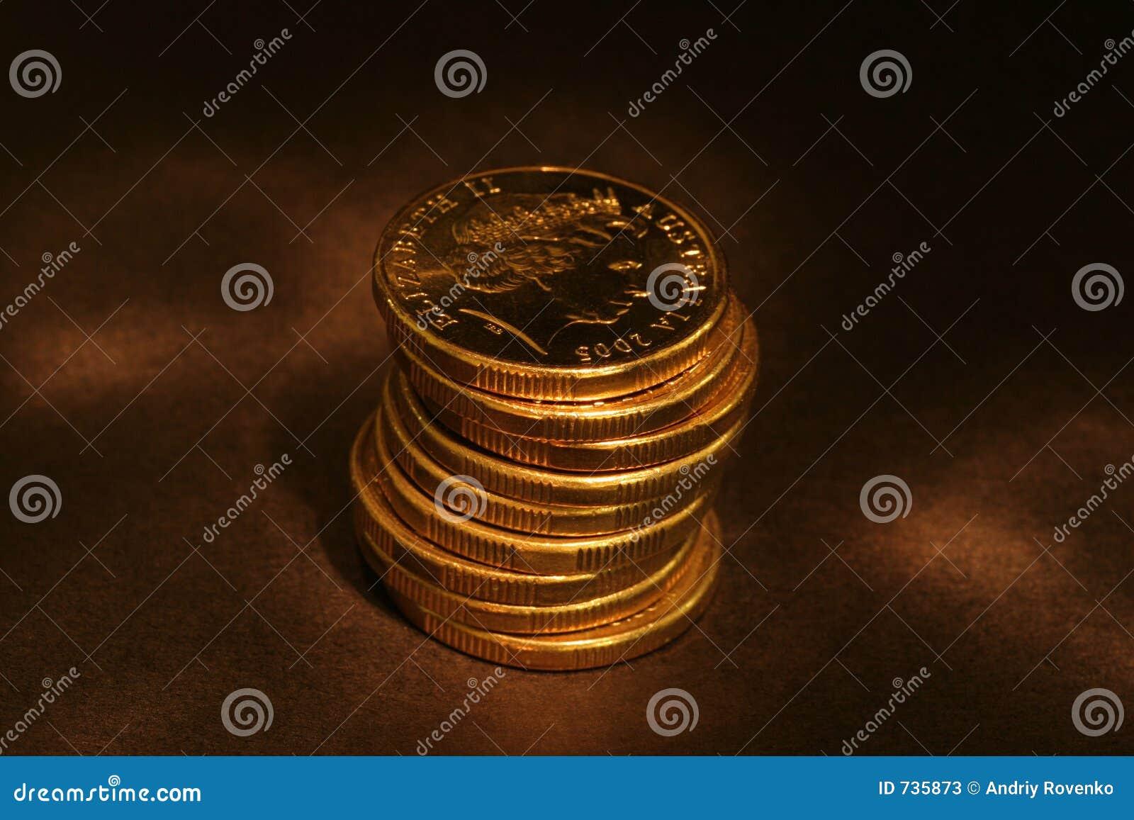 Pièces de monnaie d or