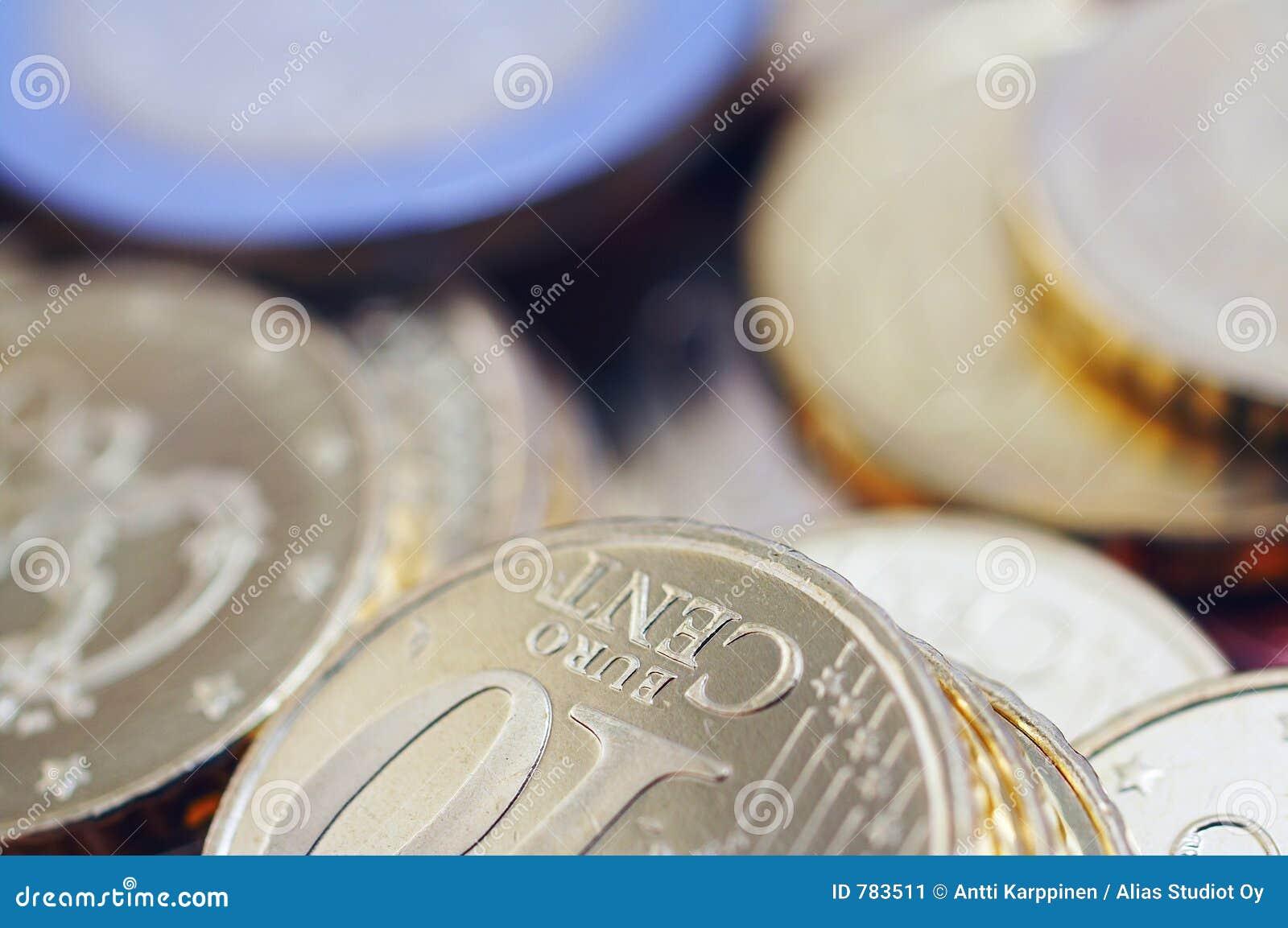 Pièces de monnaie d euro d Uncirculated
