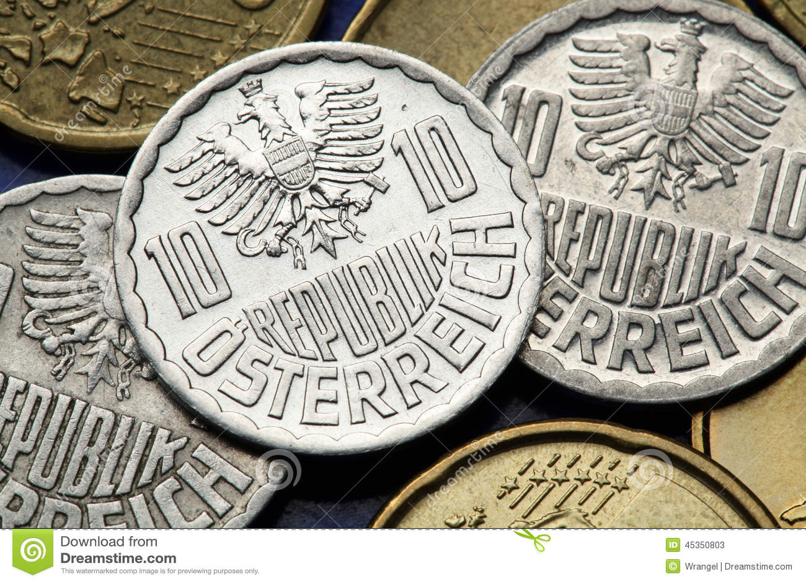 Pièces de monnaie de l Autriche