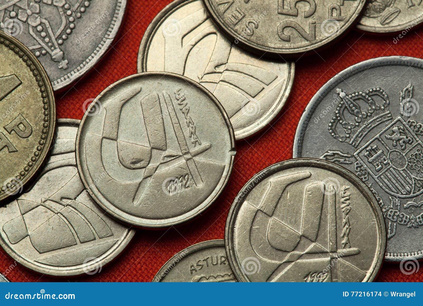 Pièces de monnaie de l Espagne
