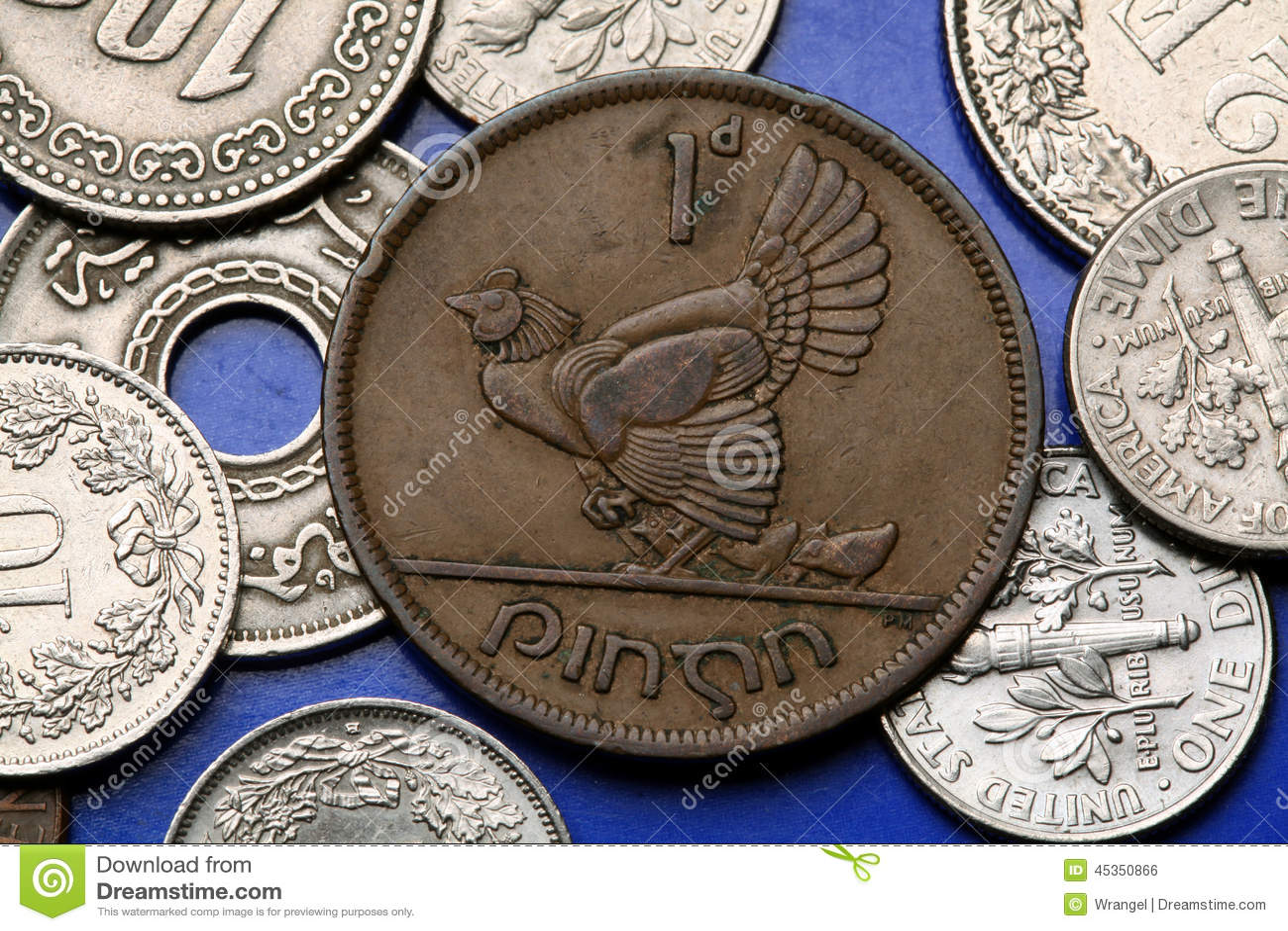 Pièces de monnaie de l Irlande