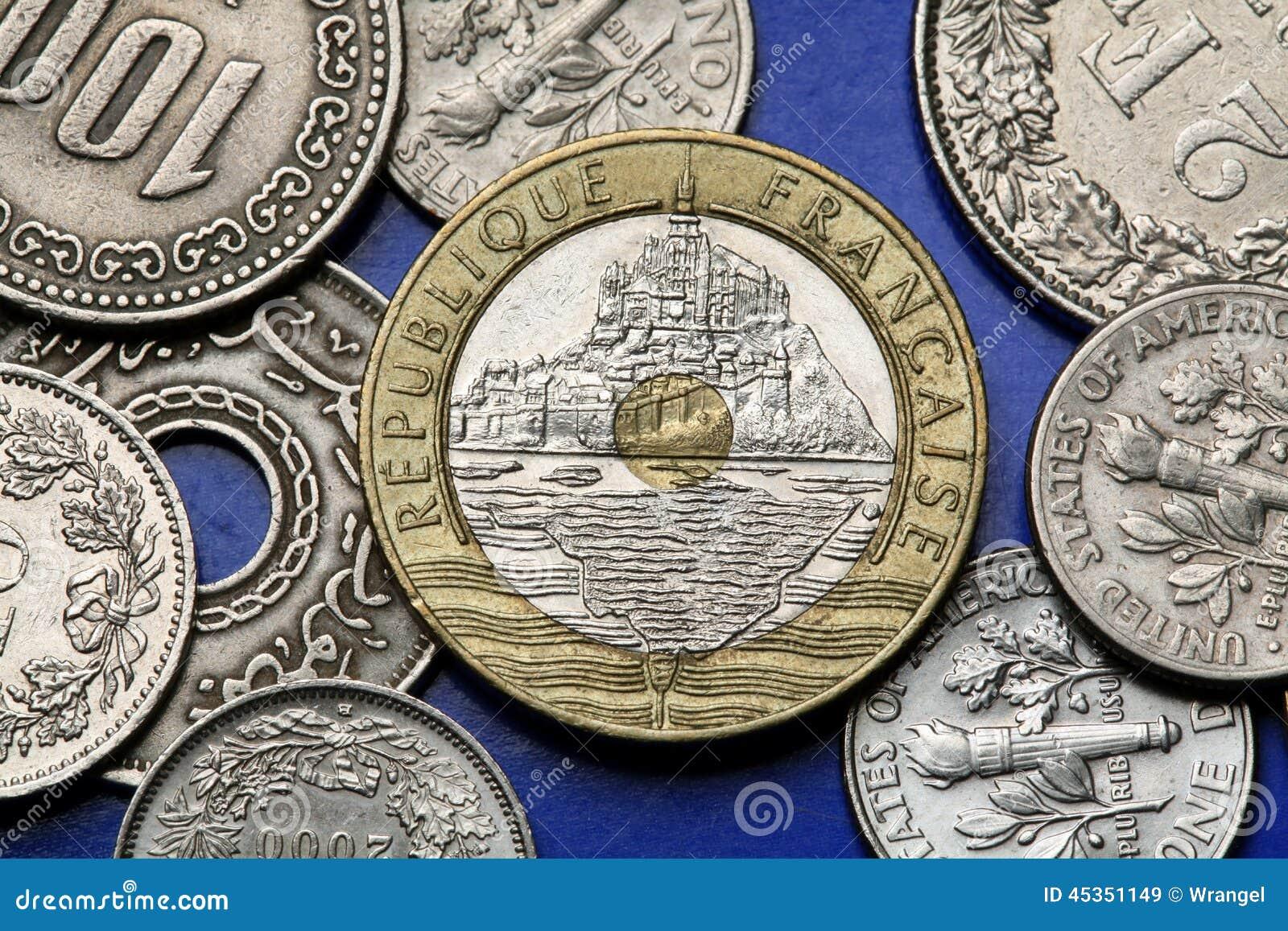 Pièces de monnaie des Frances