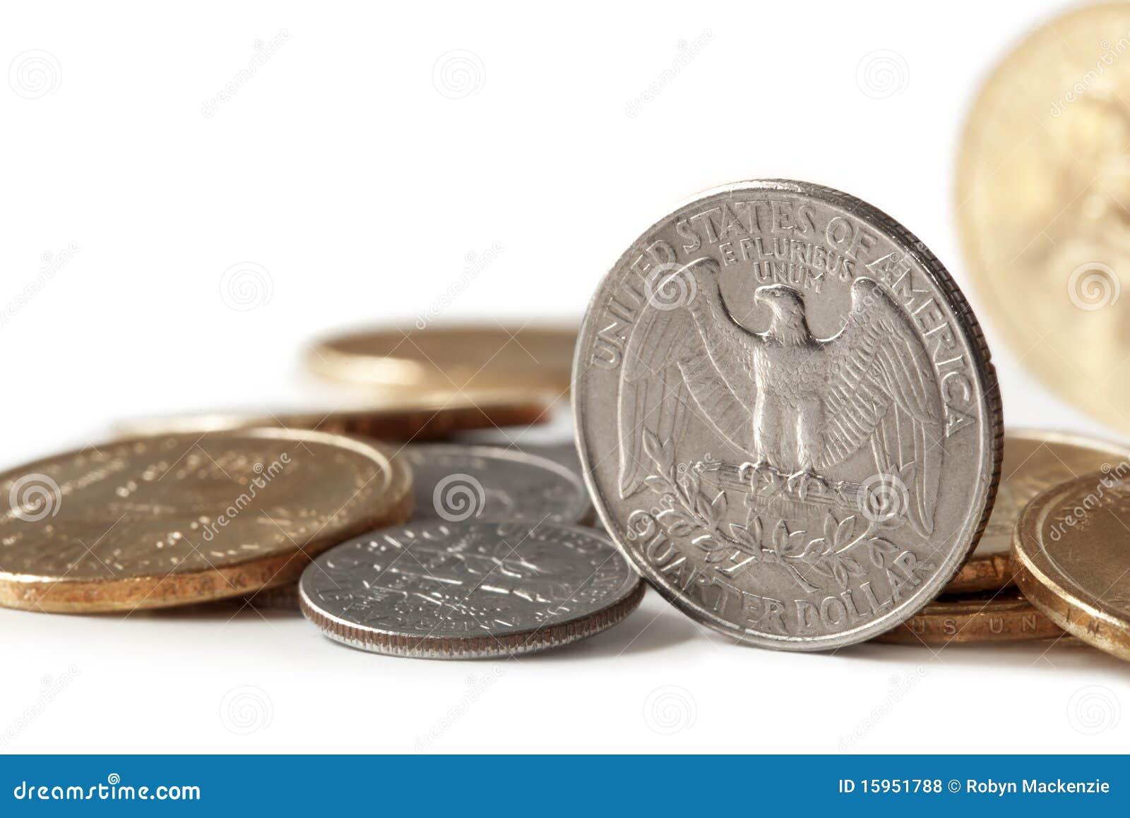 Pièces de monnaie des USA