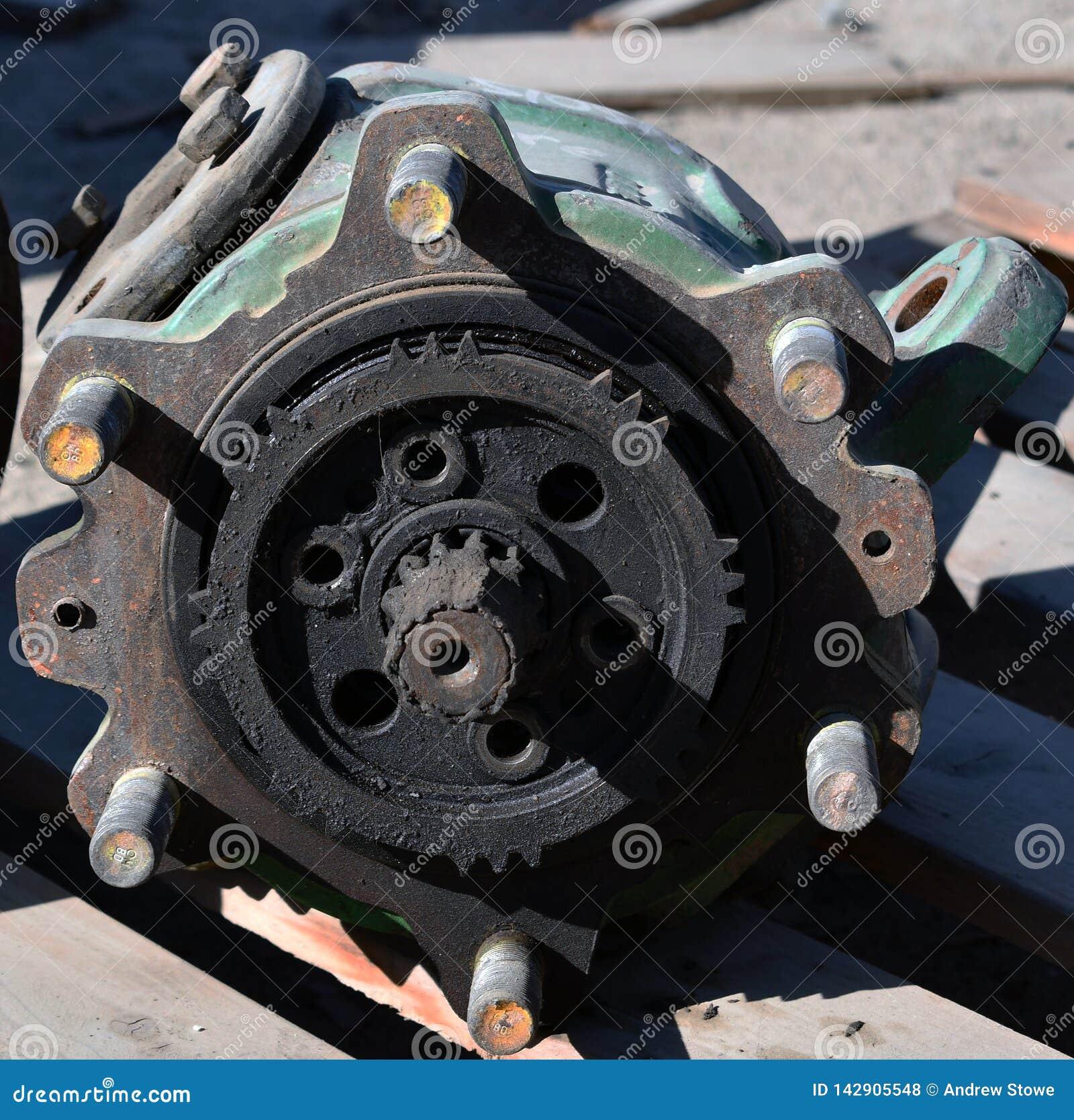 Pièces de rechange d une roue de vitesse sur la pompe à engrenages hydraulique de tracteur
