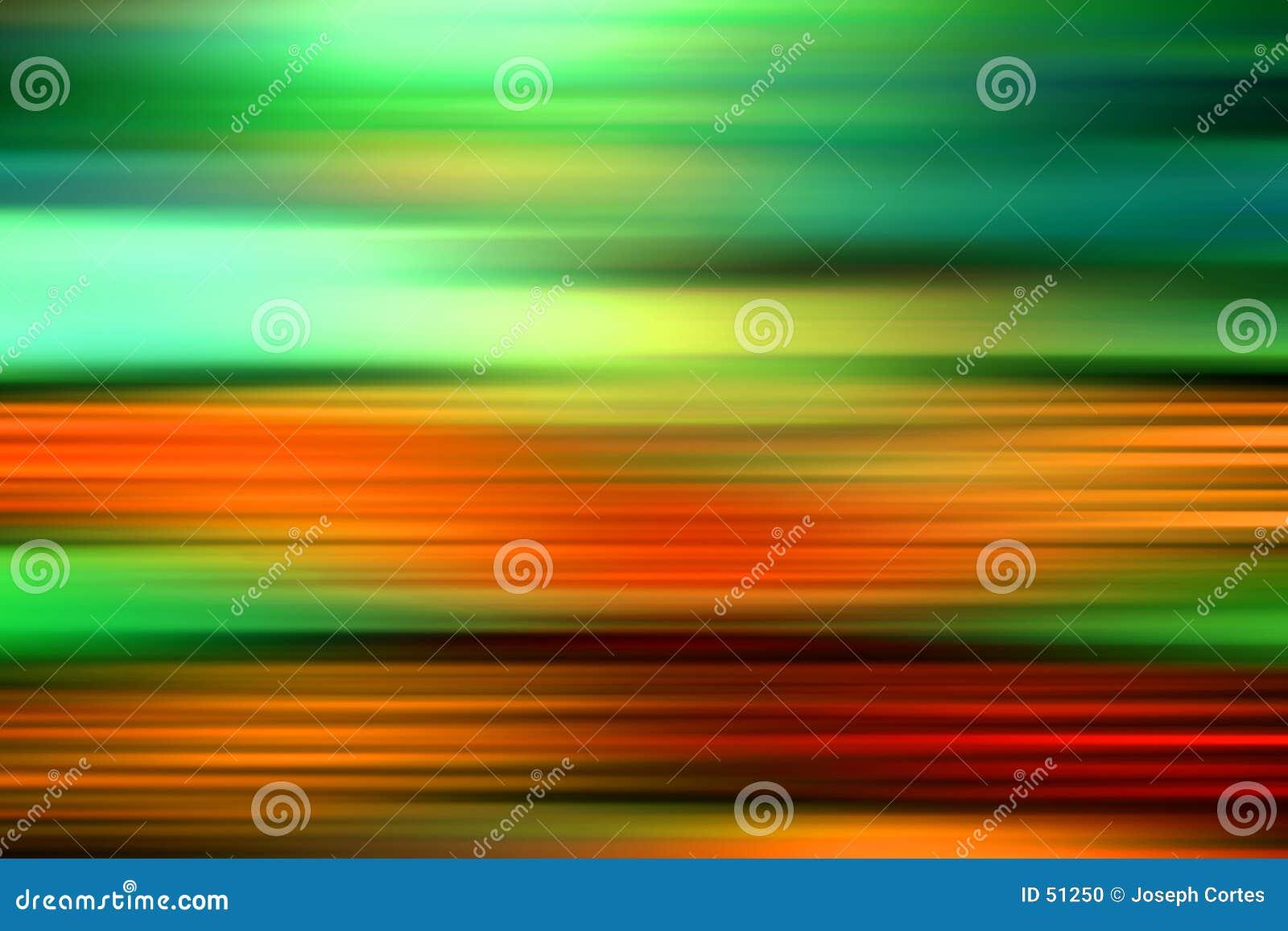 Piękna abstrakcyjne kolorów przyspieszenia
