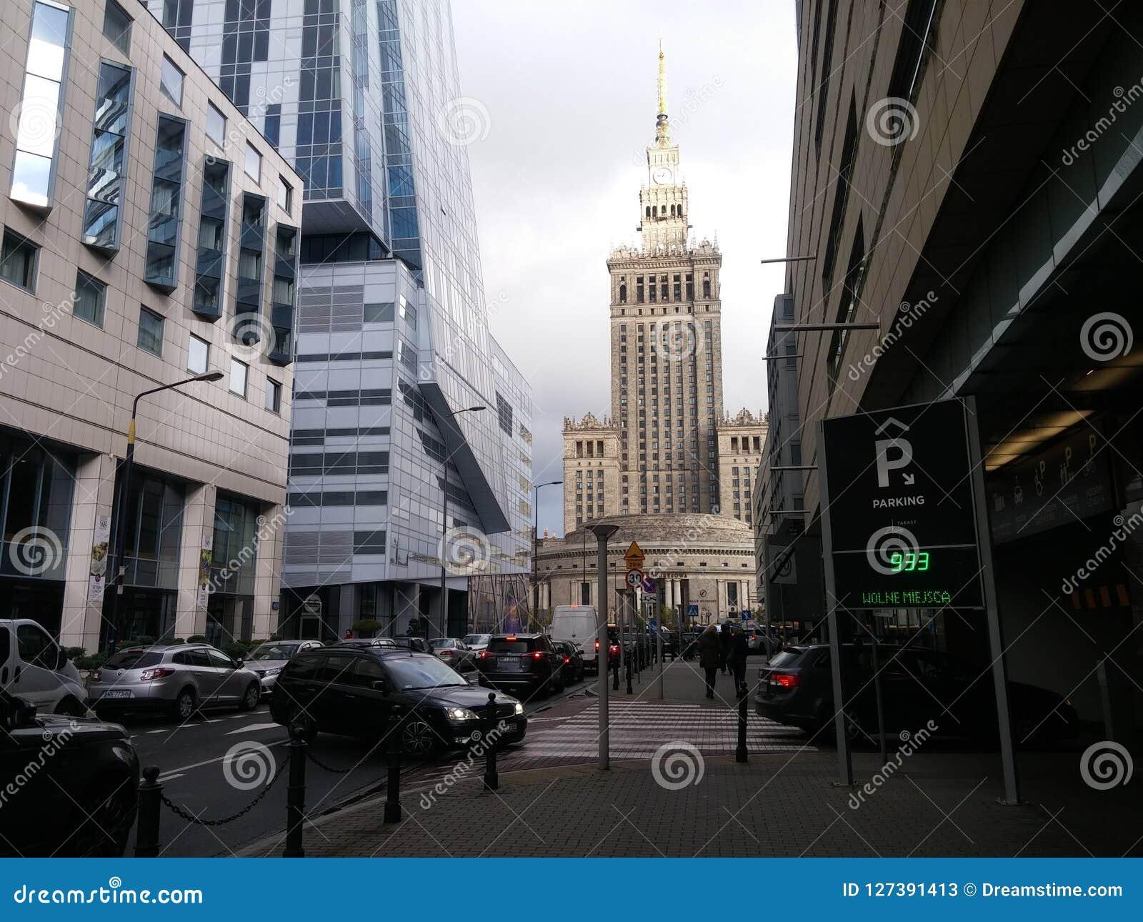 Piękna architektura Warszawa