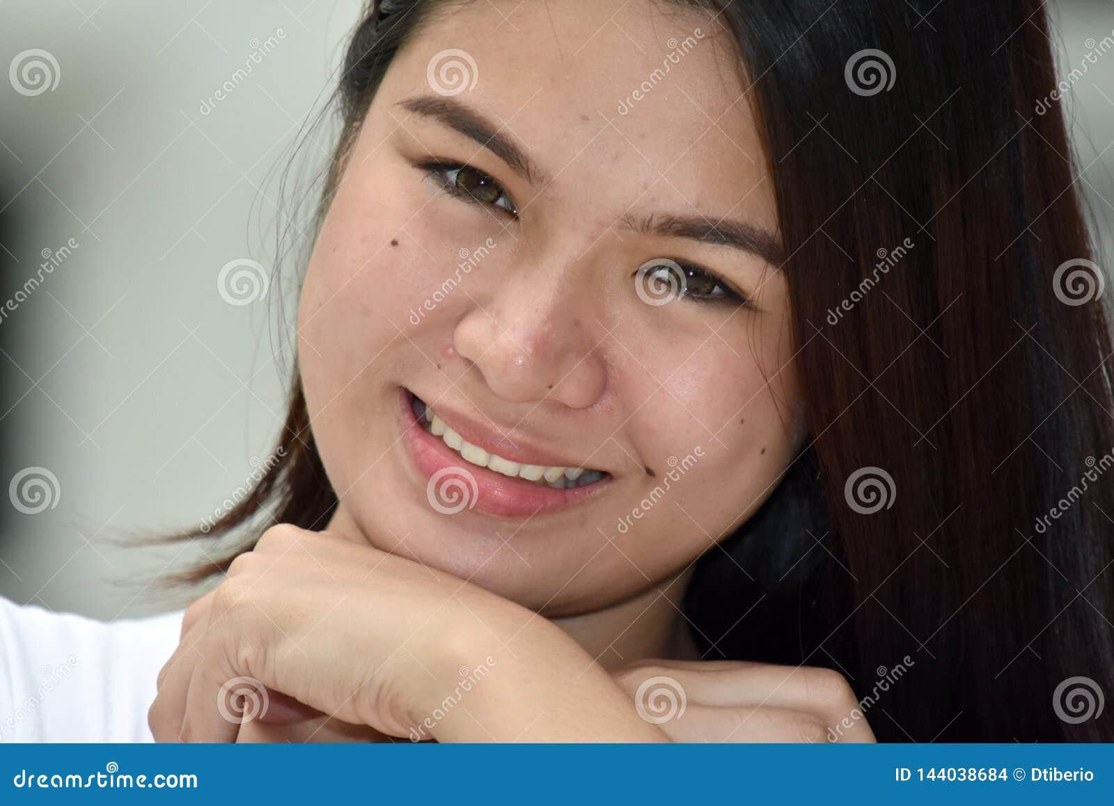 Piękna Azjatycka osoba