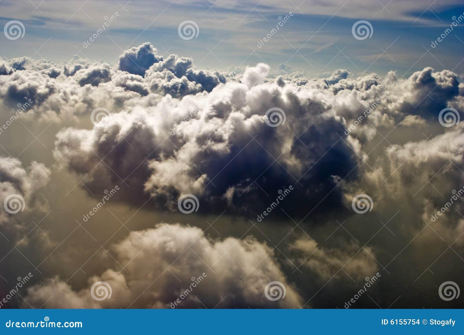 Piękna cloudscape