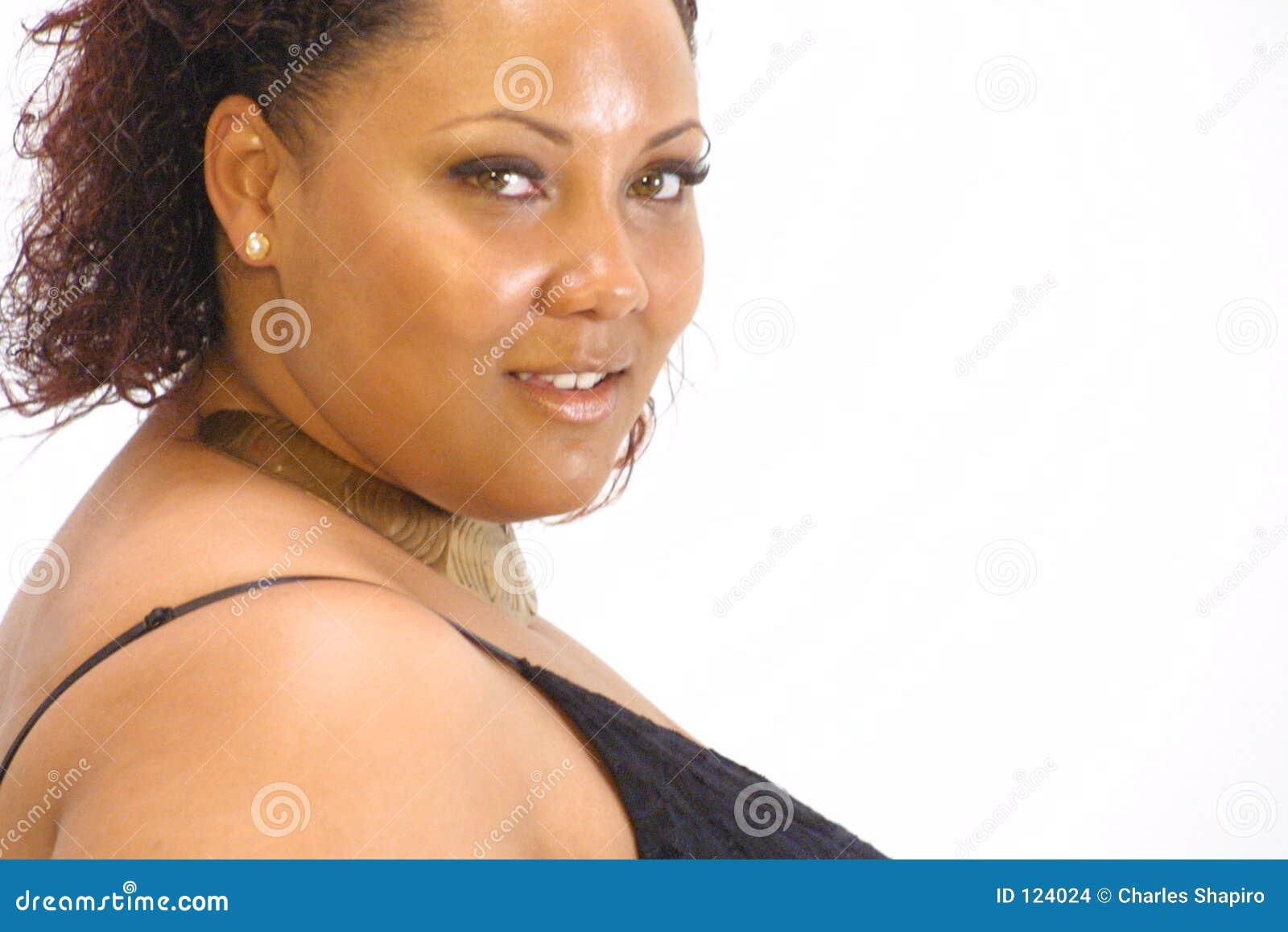 Piękna, czarna kobieta