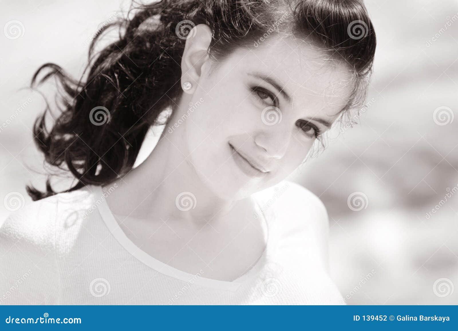 Piękna dziewczyna sweet