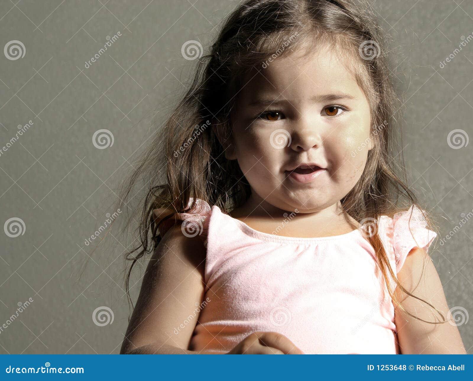 Piękna dziewczyna trochę