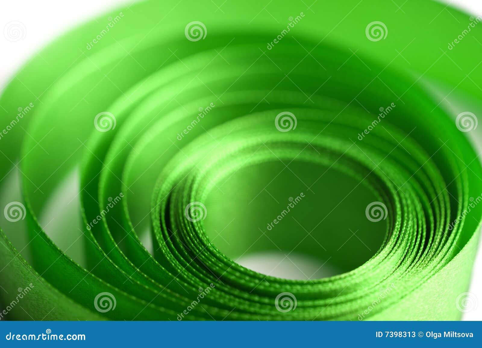 Piękna formy zieleni faborku spirala