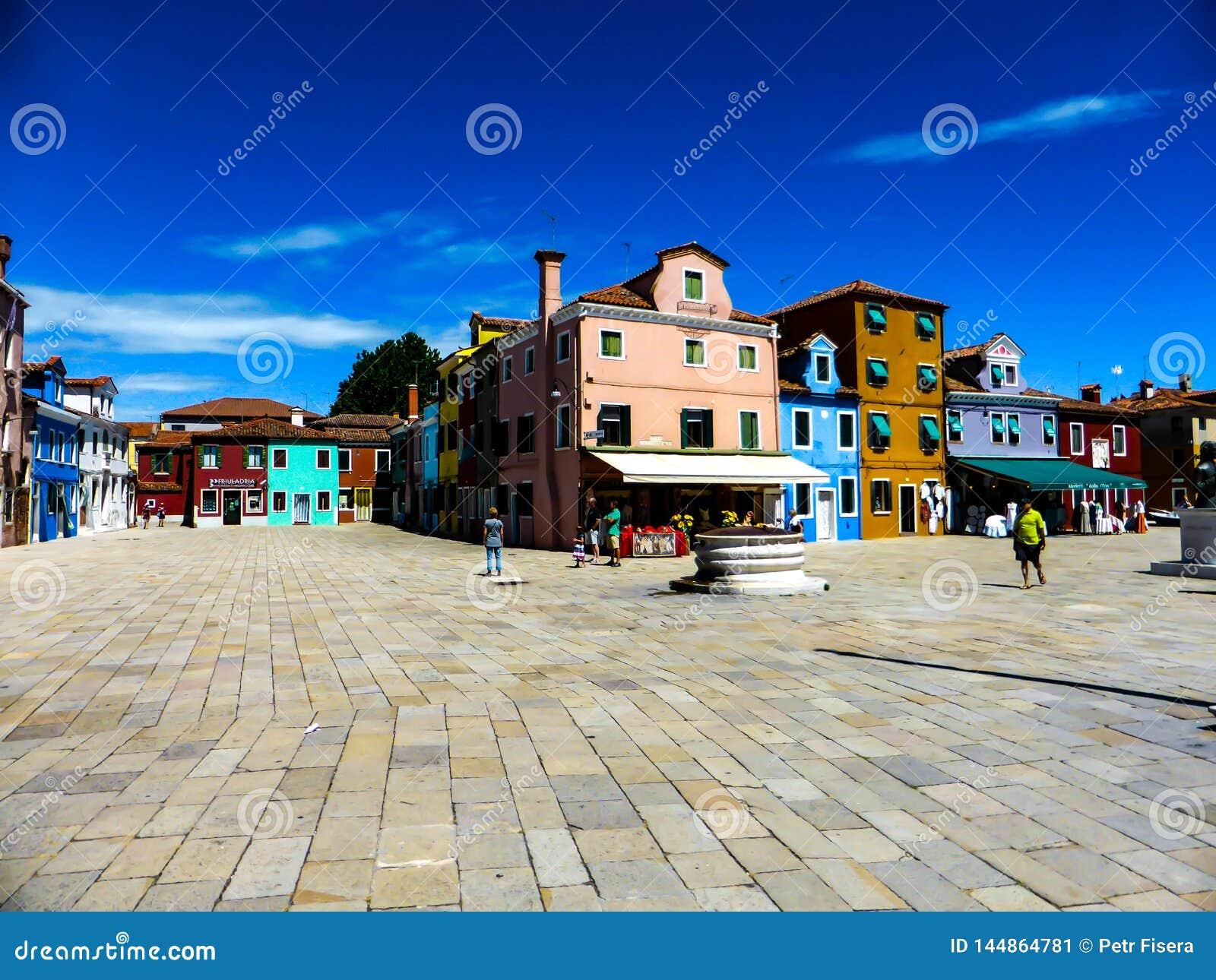 Piękna fotografia Murano, Wenecja - Włochy