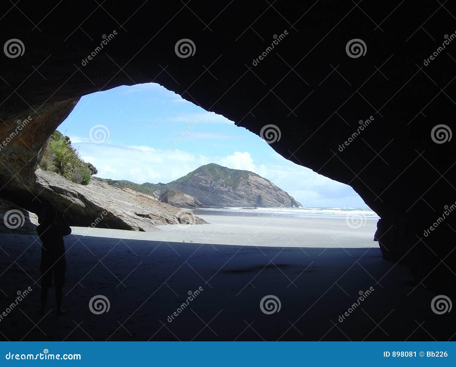 Piękna jaskinia