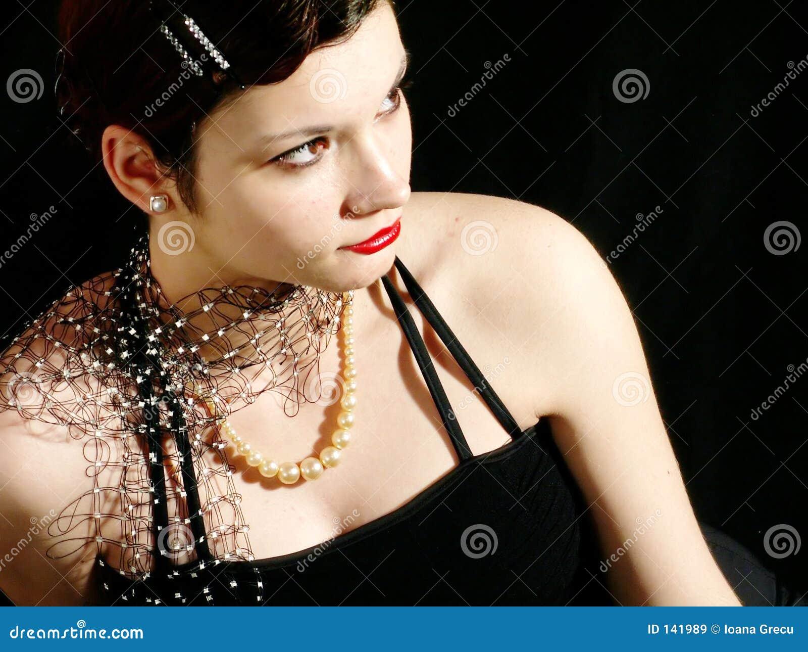 Piękna kobieta elegancka