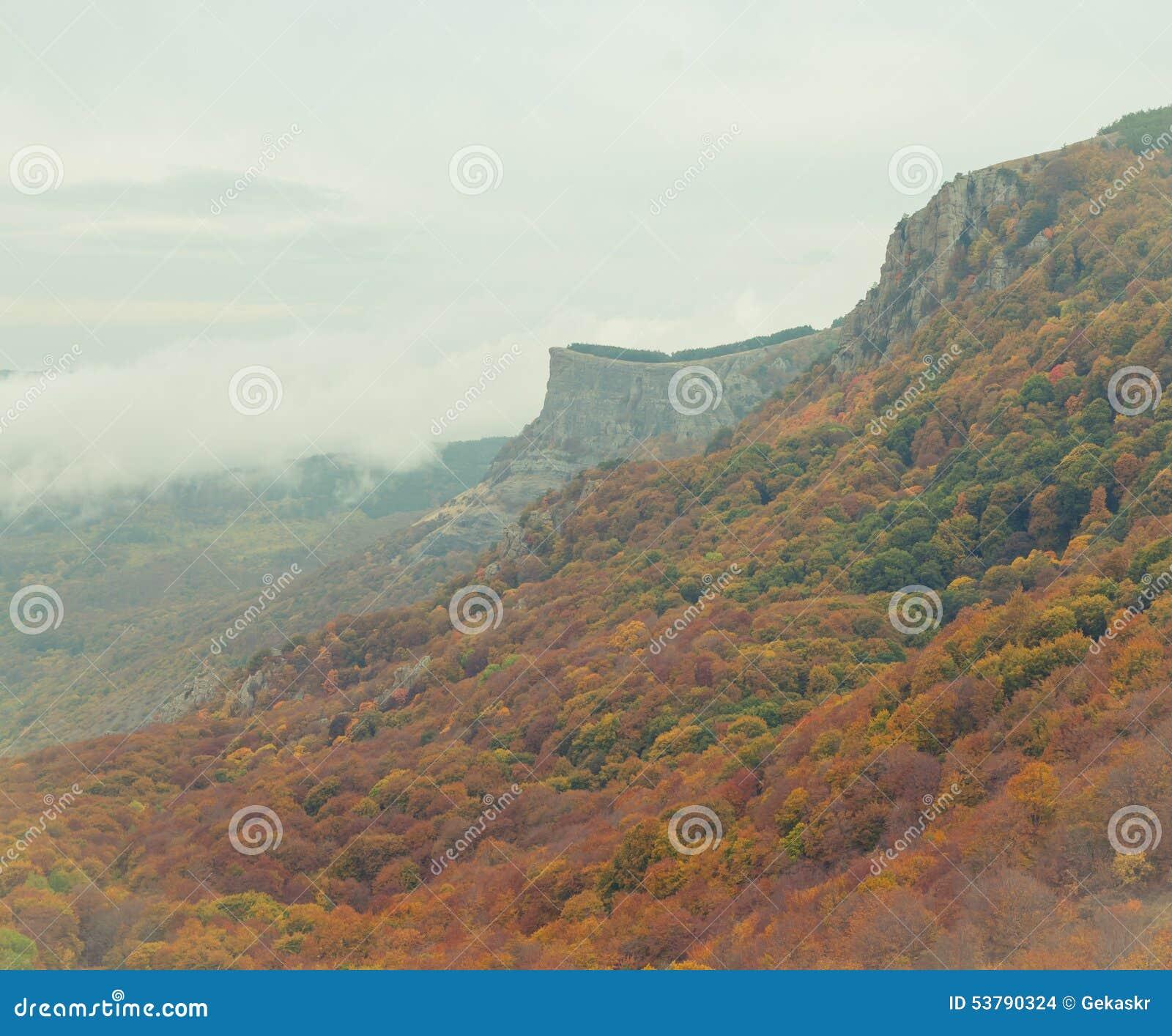 Piękna krajobrazowa góry