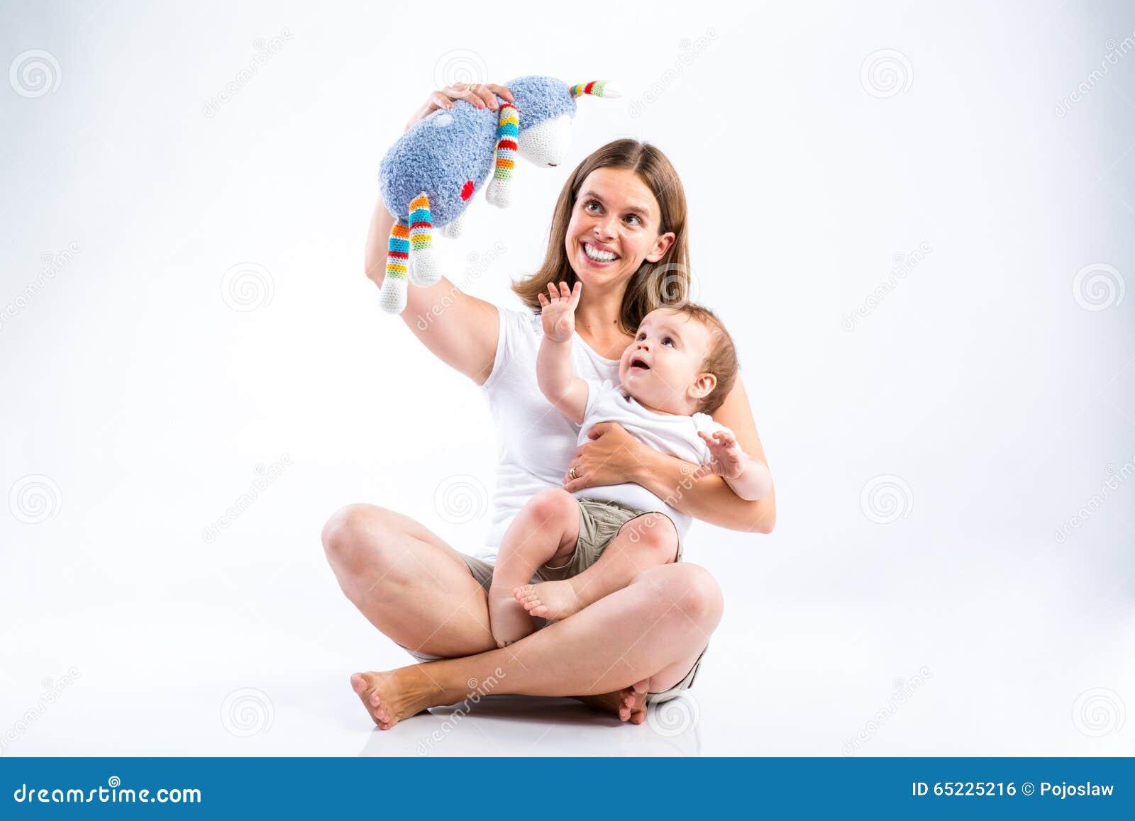 Piękna matka synu