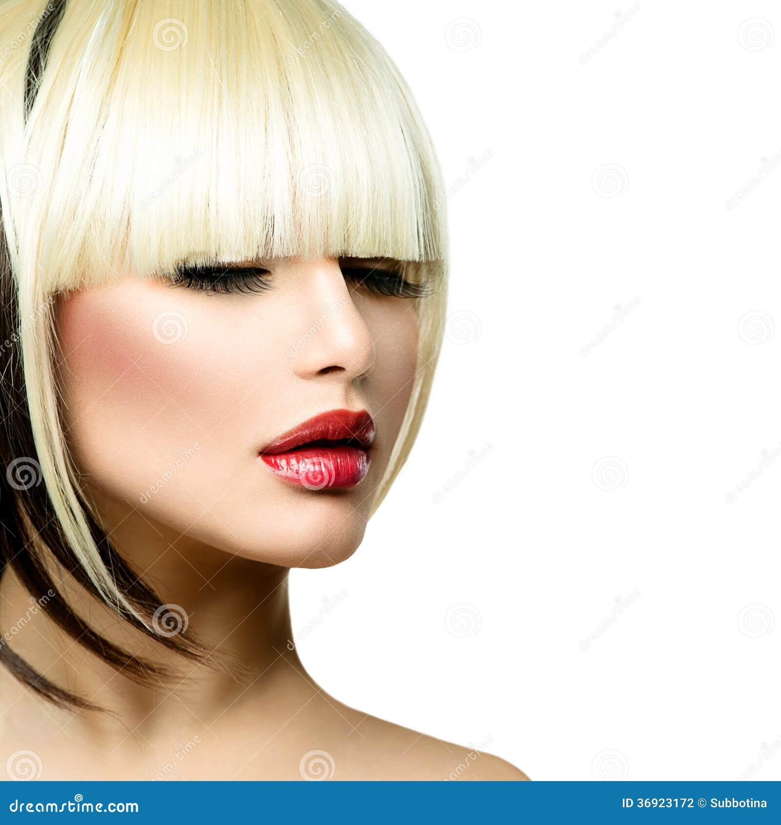 Piękna mody kobieta
