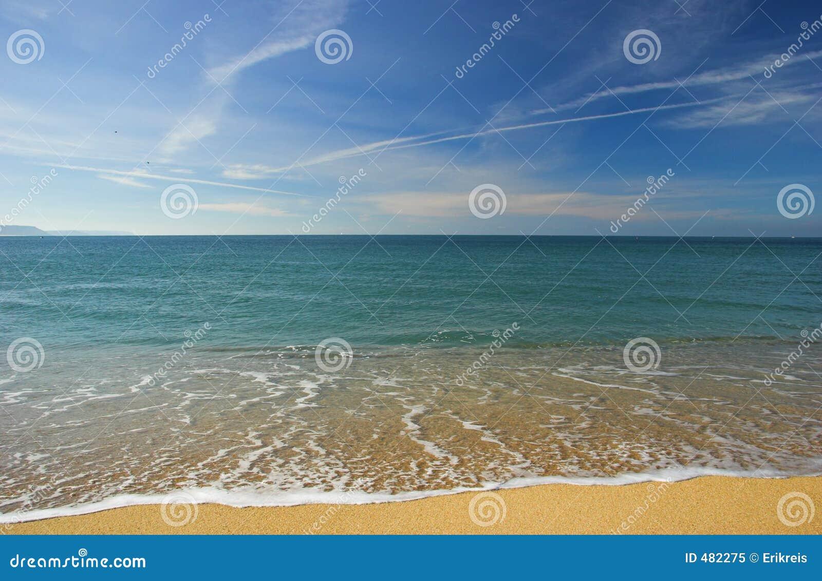 Piękna na plaży