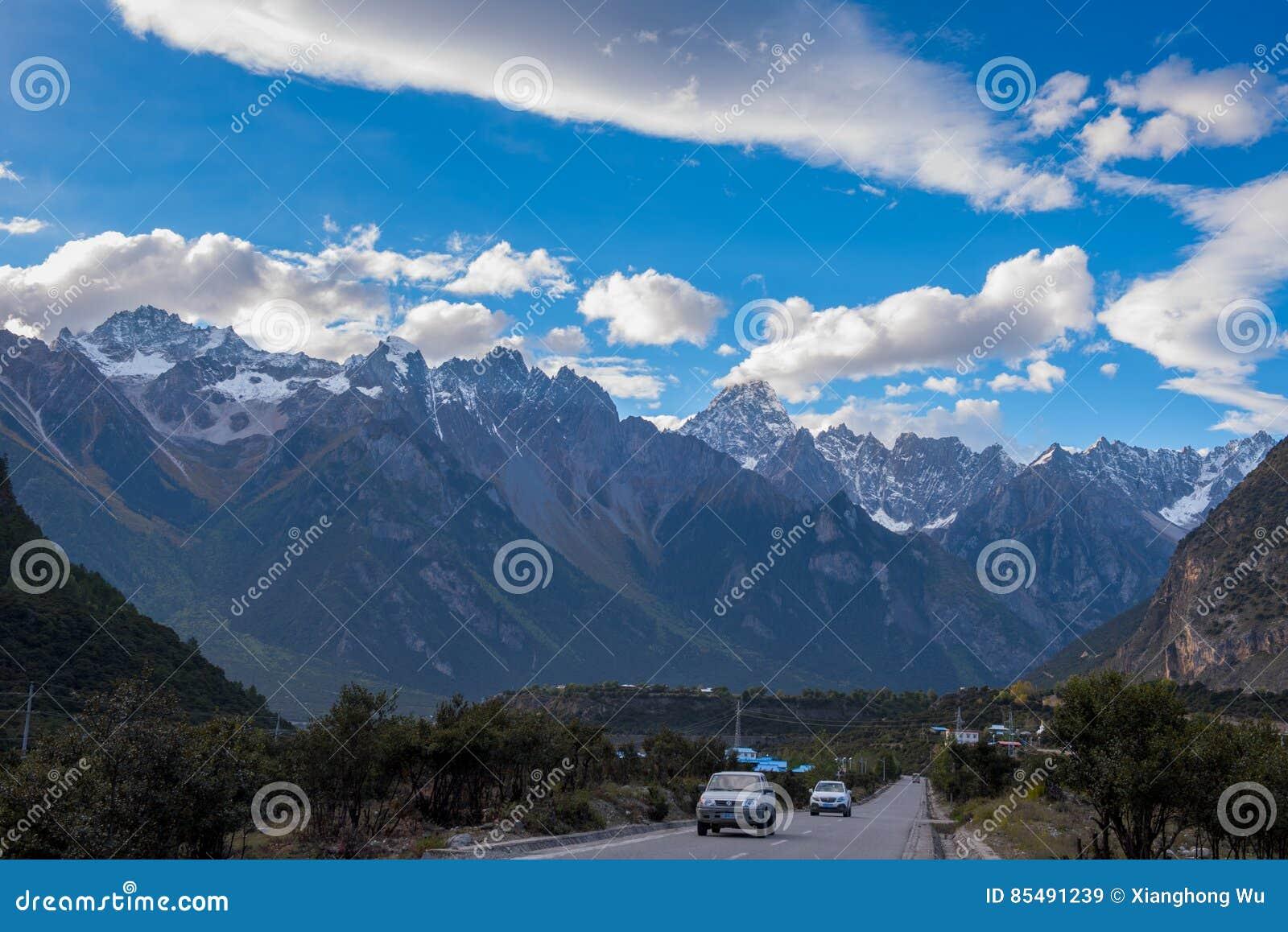 Piękna sceneria: Podróżować w Tybet