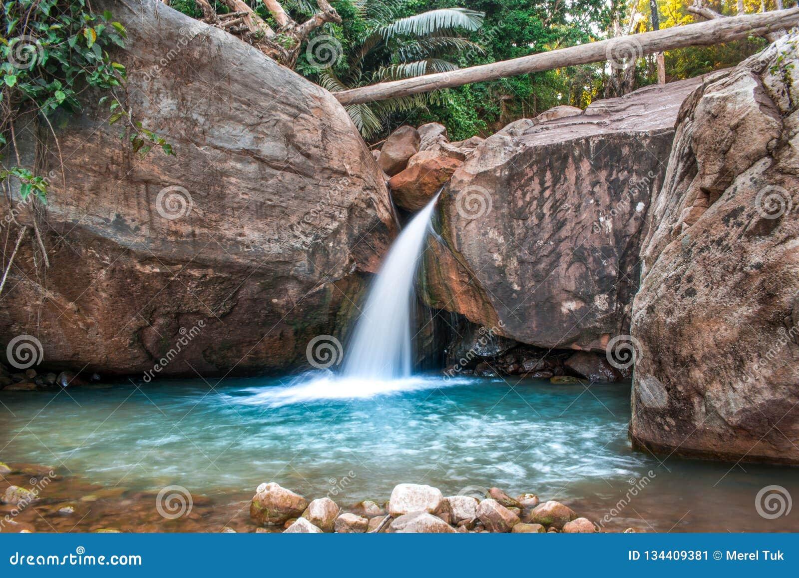 Piękna woda w Kambodża w Azja Południowo-Wschodnia