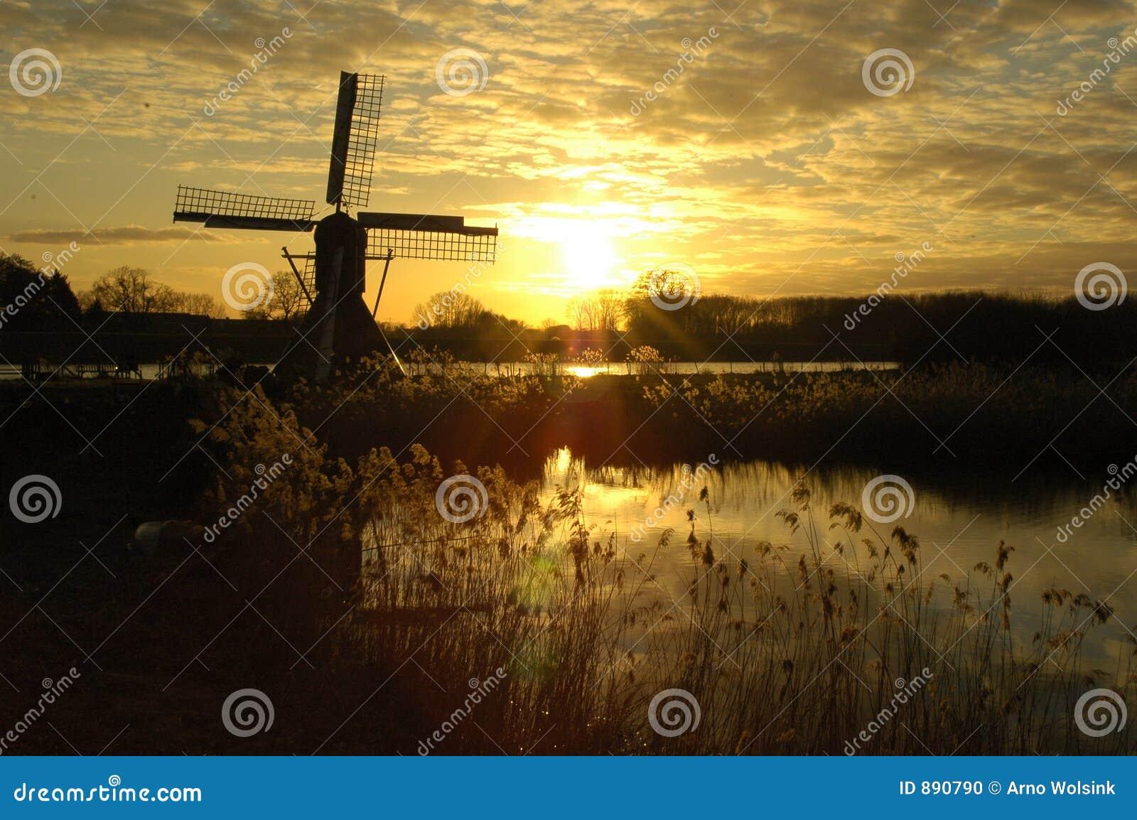 Piękne kolorów fantastyczne słońca